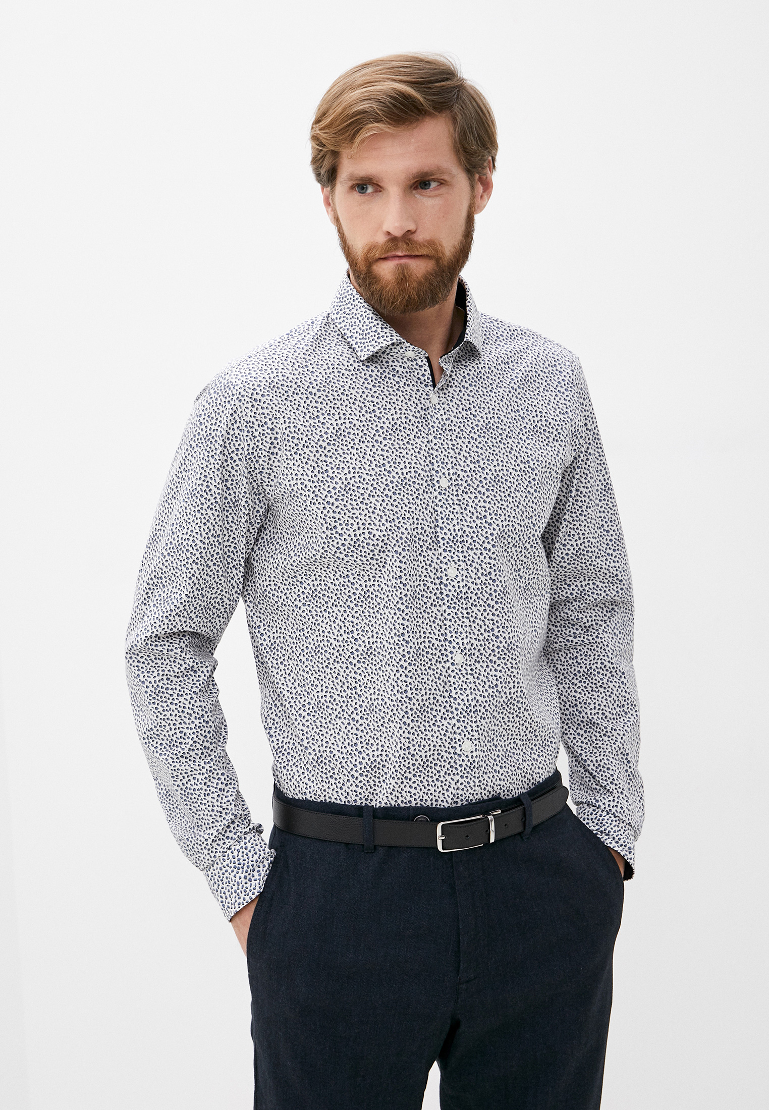 Рубашка с длинным рукавом s.Oliver Black Label Рубашка s.Oliver Black Label
