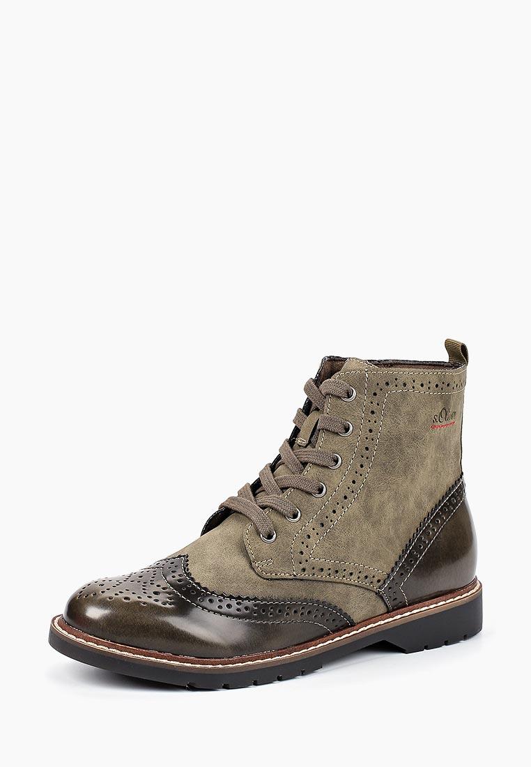 Женские ботинки s.Oliver (с.Оливер) 5-5-25465-21-721