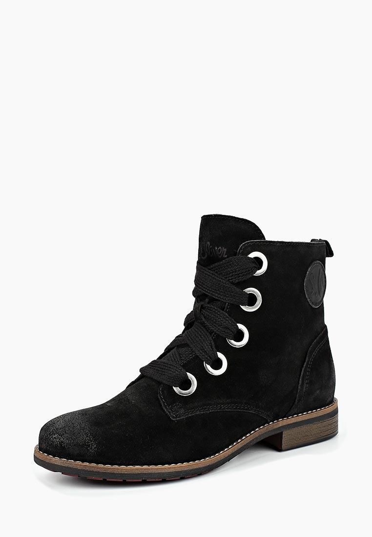Женские ботинки s.Oliver (с.Оливер) 5-5-25210-31-001
