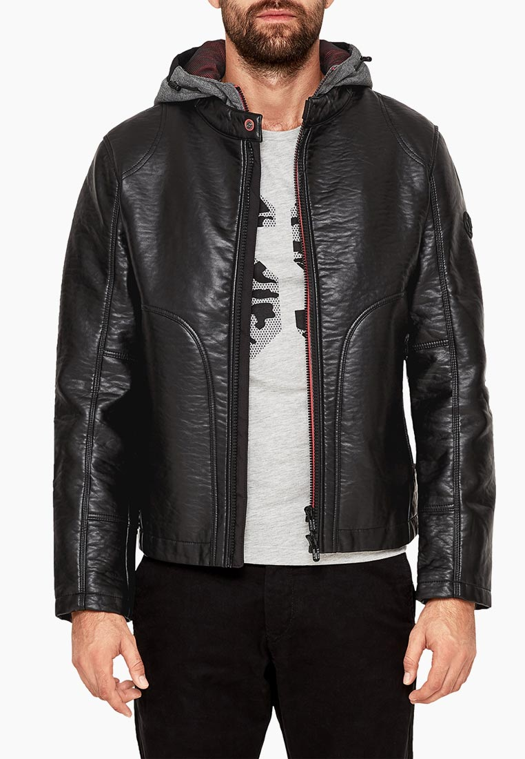 Кожаная куртка s.Oliver (с.Оливер) 28.809.51.8102