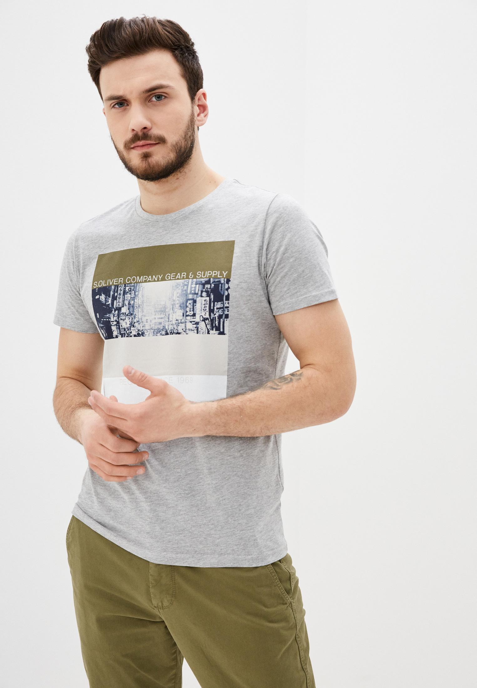 Футболка с коротким рукавом s.Oliver (с.Оливер) 130.10.003.12.130.20
