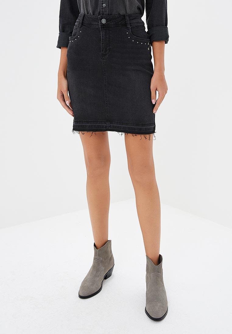 Джинсовая юбка s.Oliver (с.Оливер) 14.808.79.3785