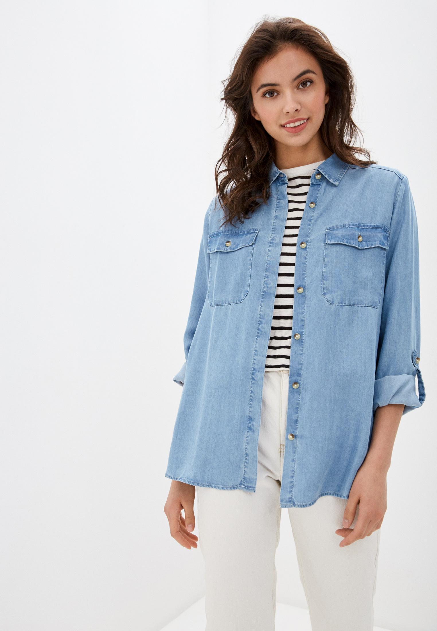 Женские джинсовые рубашки s.Oliver (с.Оливер) 14.001.11.2837