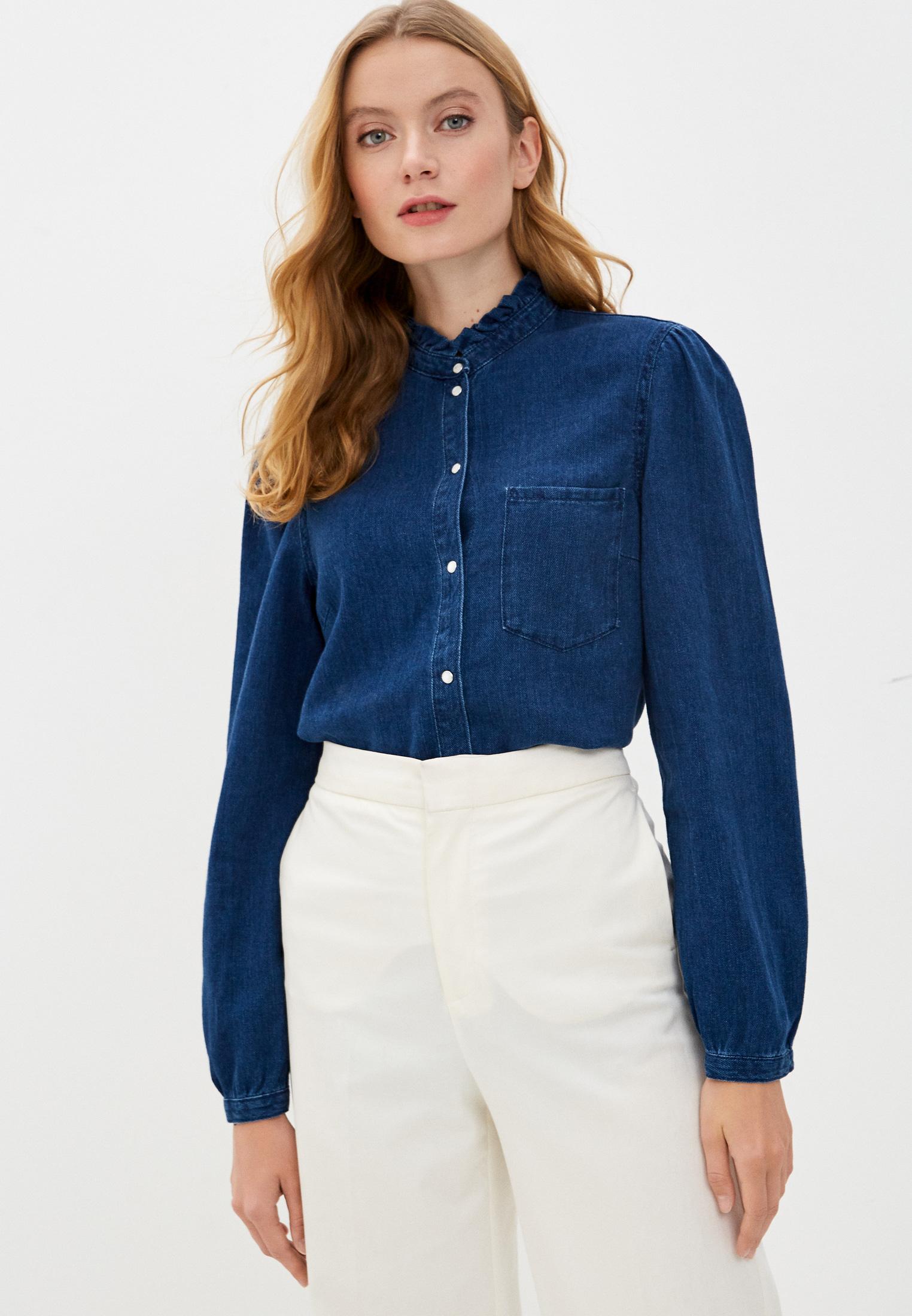 Женские джинсовые рубашки s.Oliver (с.Оливер) 120.10.008.26.100.2042504