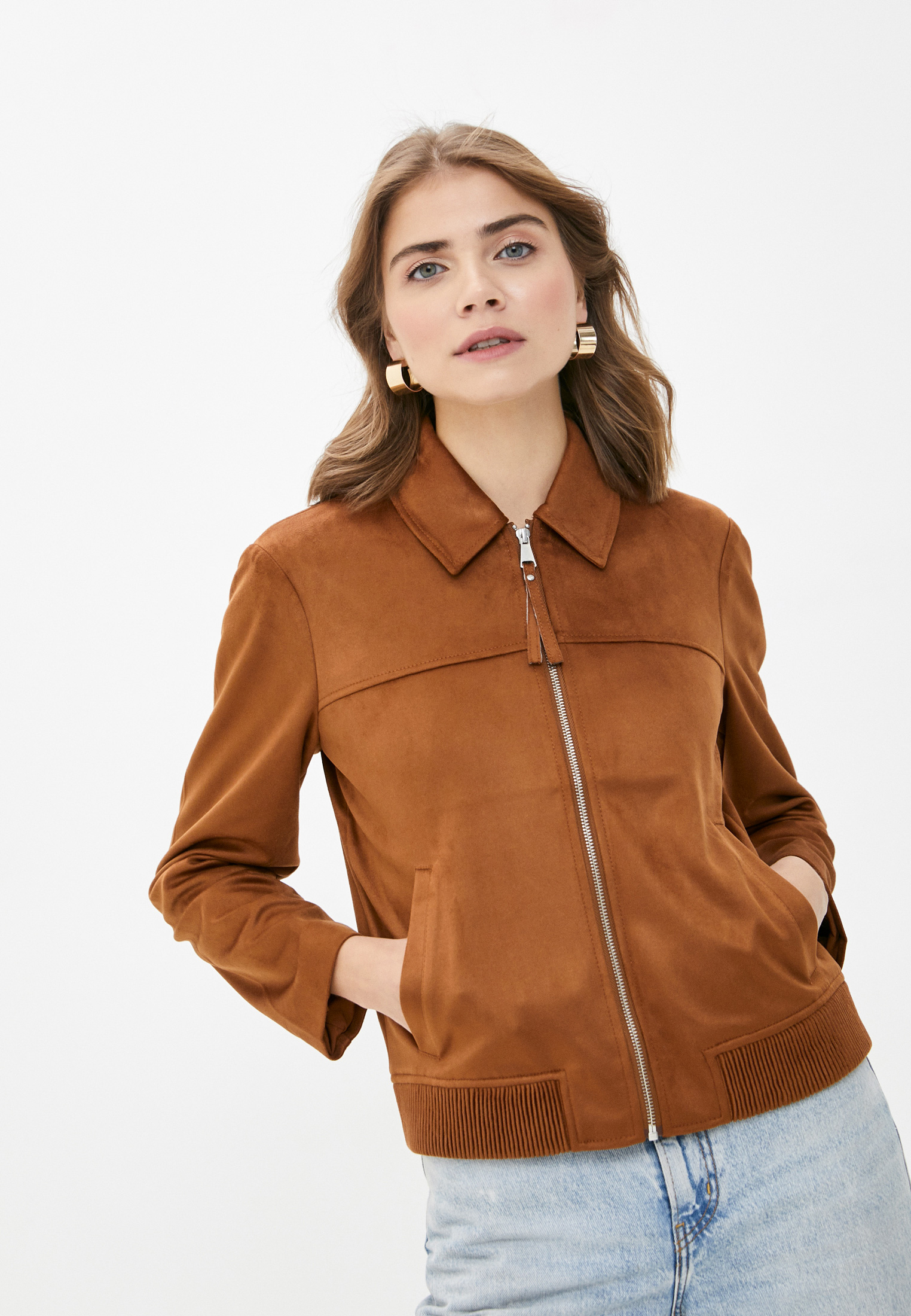 Кожаная куртка s.Oliver (с.Оливер) Куртка кожаная s.Oliver