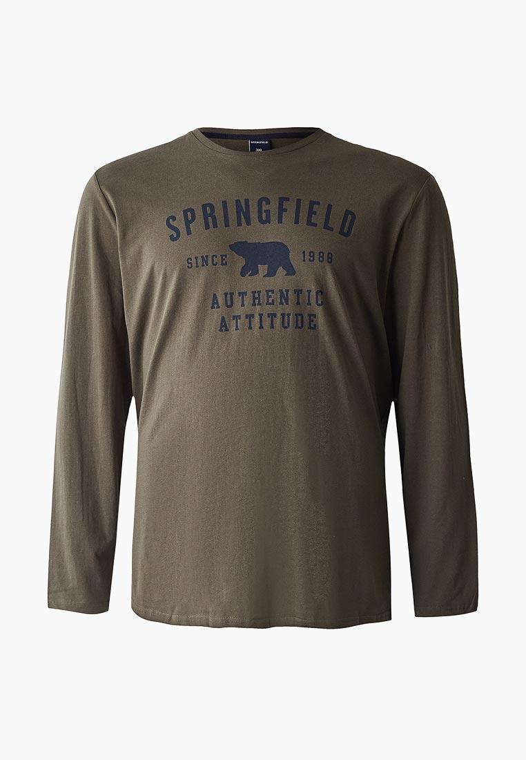 Футболка с длинным рукавом Springfield (Спрингфилд) 226653