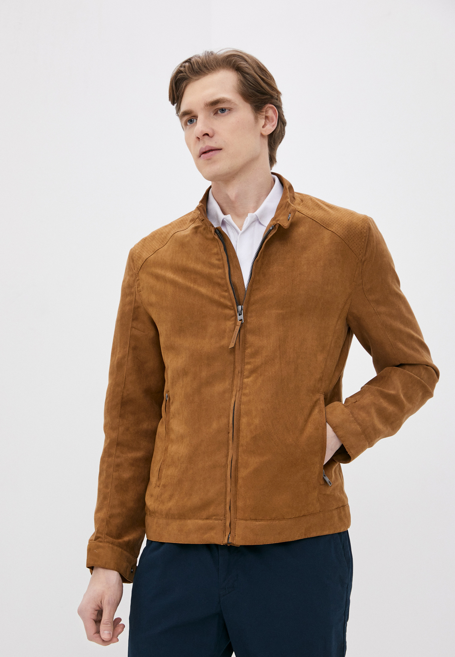 Кожаная куртка SPRINGFIELD Куртка кожаная Springfield