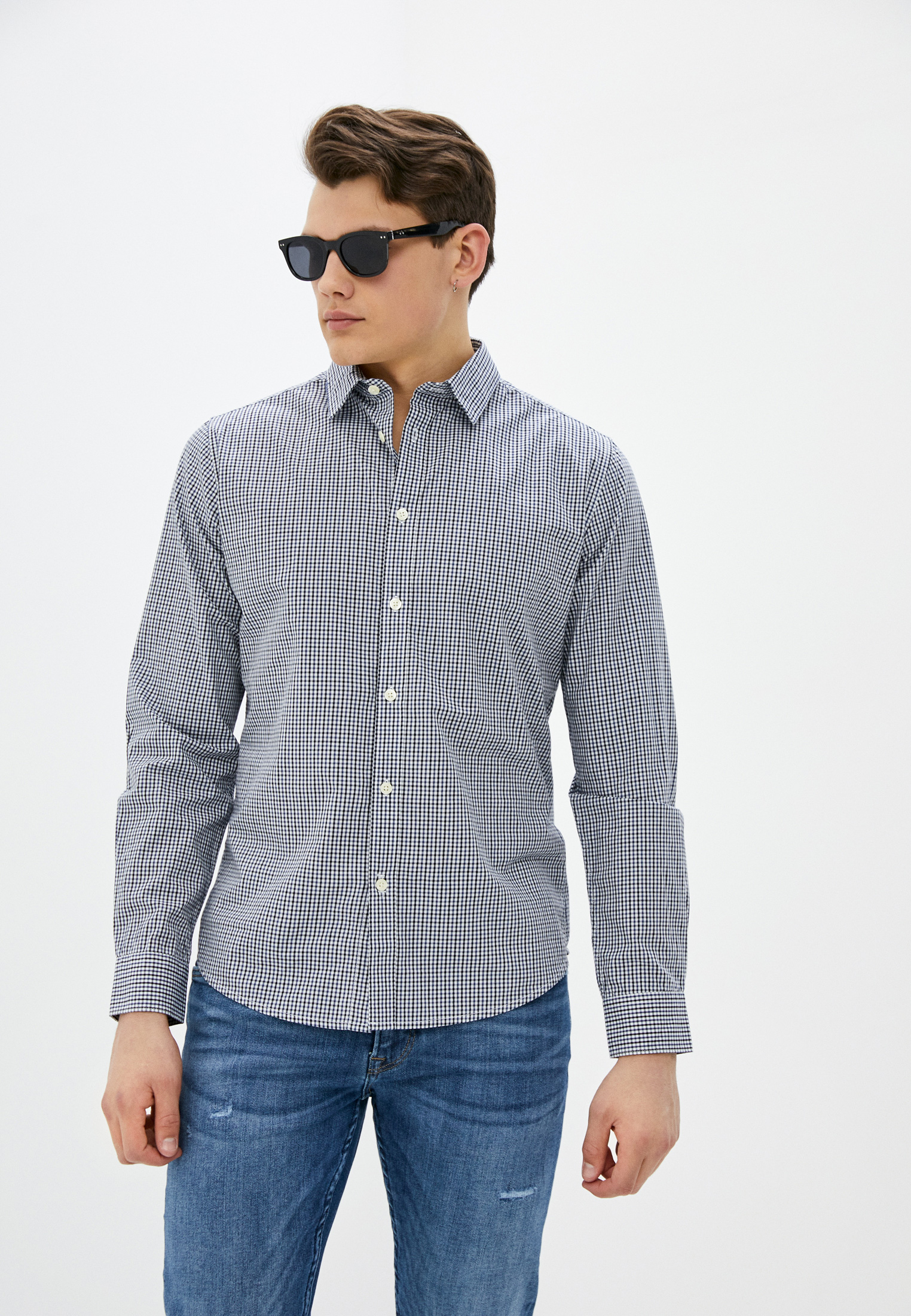 Рубашка с длинным рукавом Springfield (Спрингфилд) 339717
