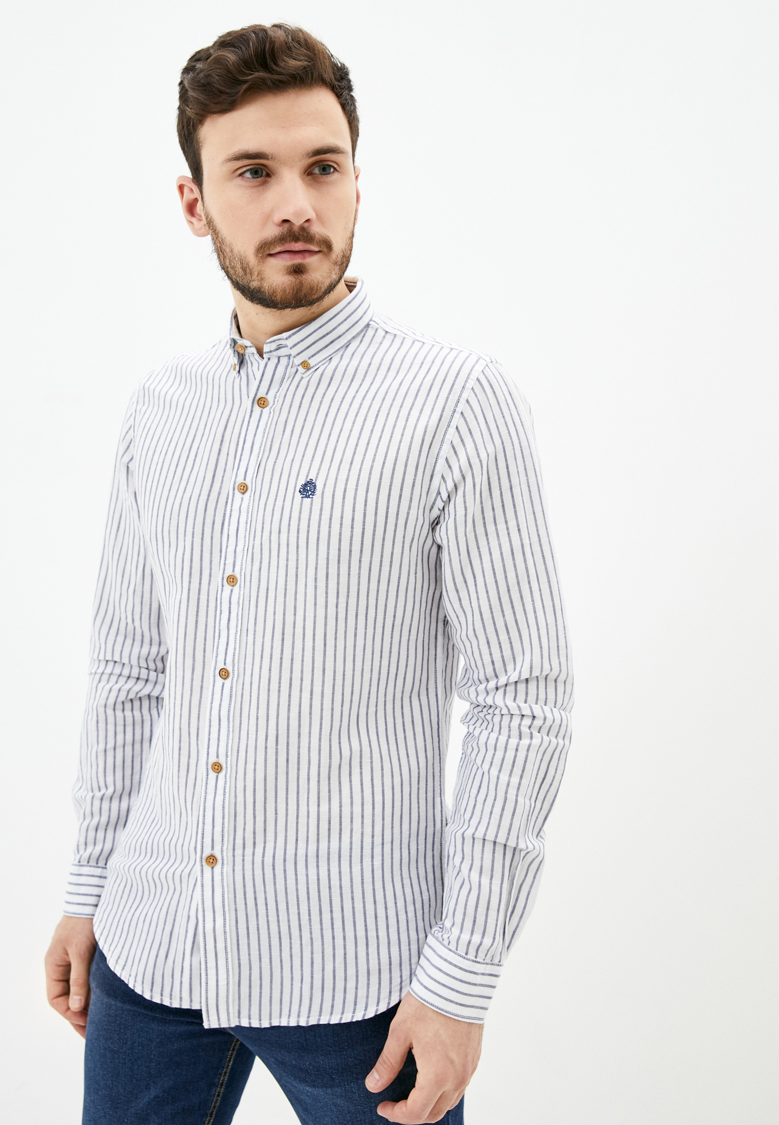Рубашка с длинным рукавом Springfield (Спрингфилд) 999016
