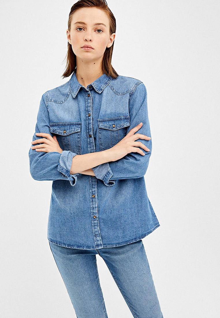 Женские джинсовые рубашки Springfield (Спрингфилд) 6796346