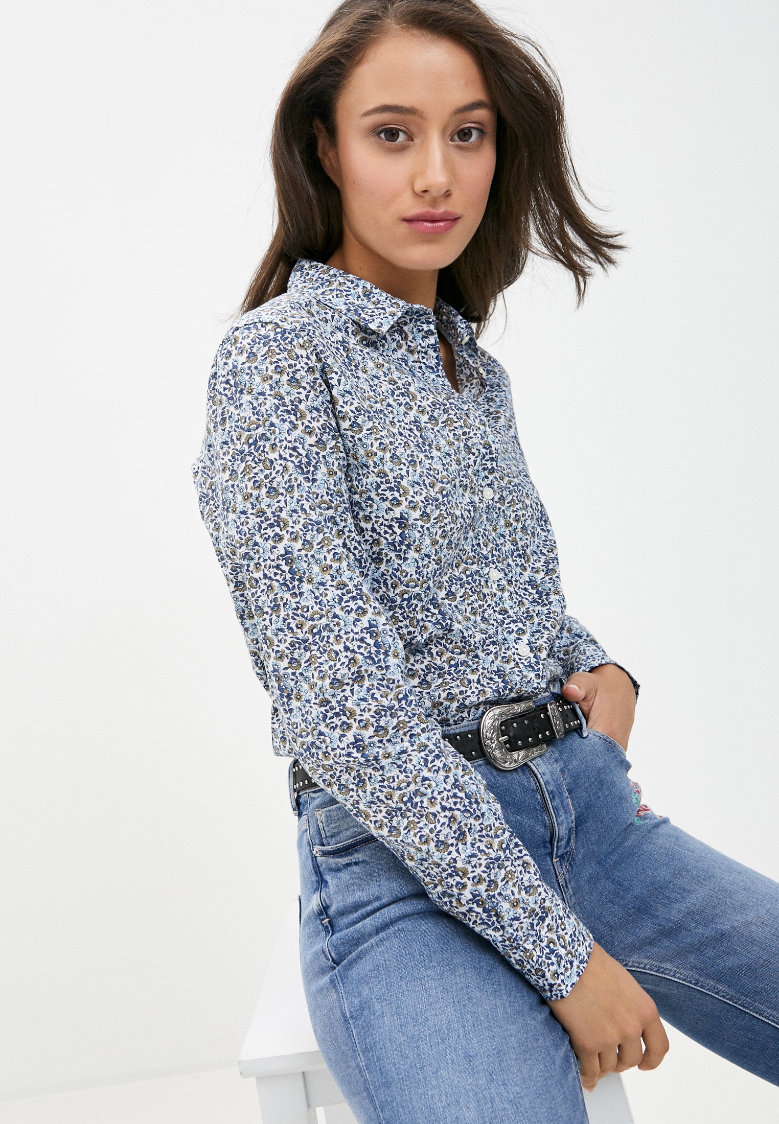 Женские рубашки с длинным рукавом SPRINGFIELD 6798047