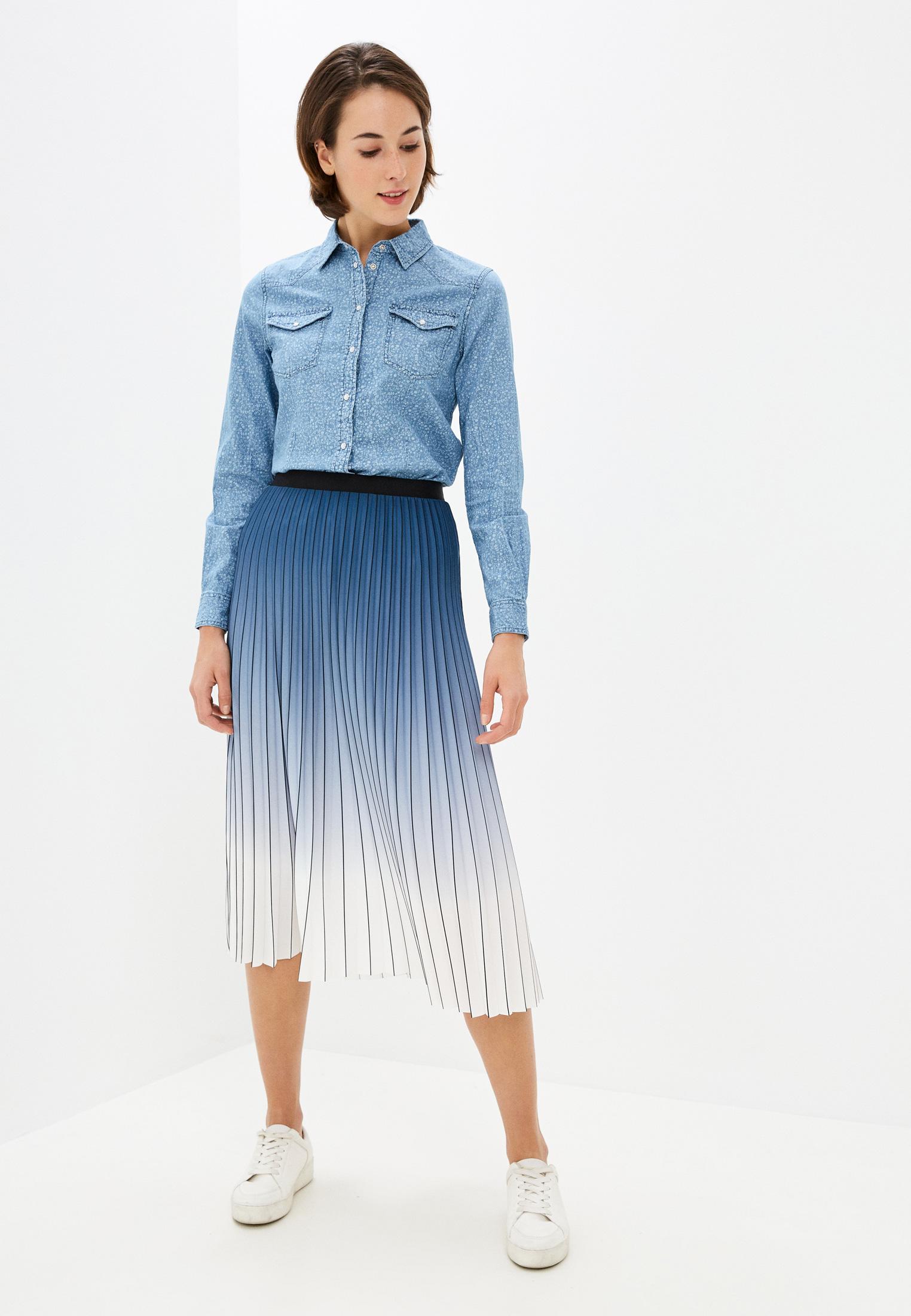 Женские джинсовые рубашки Springfield (Спрингфилд) 6798160