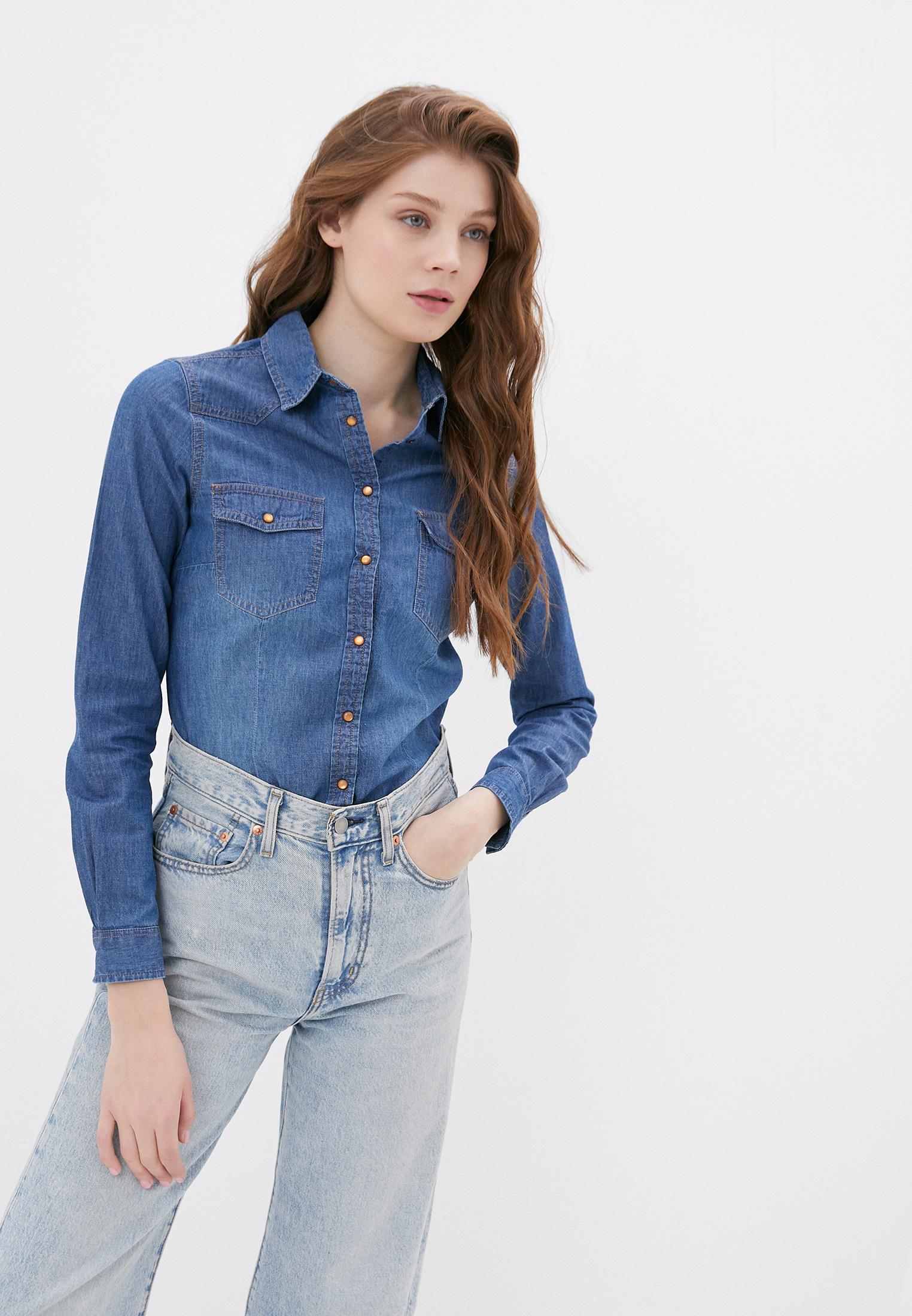 Женские джинсовые рубашки Springfield (Спрингфилд) 6799280