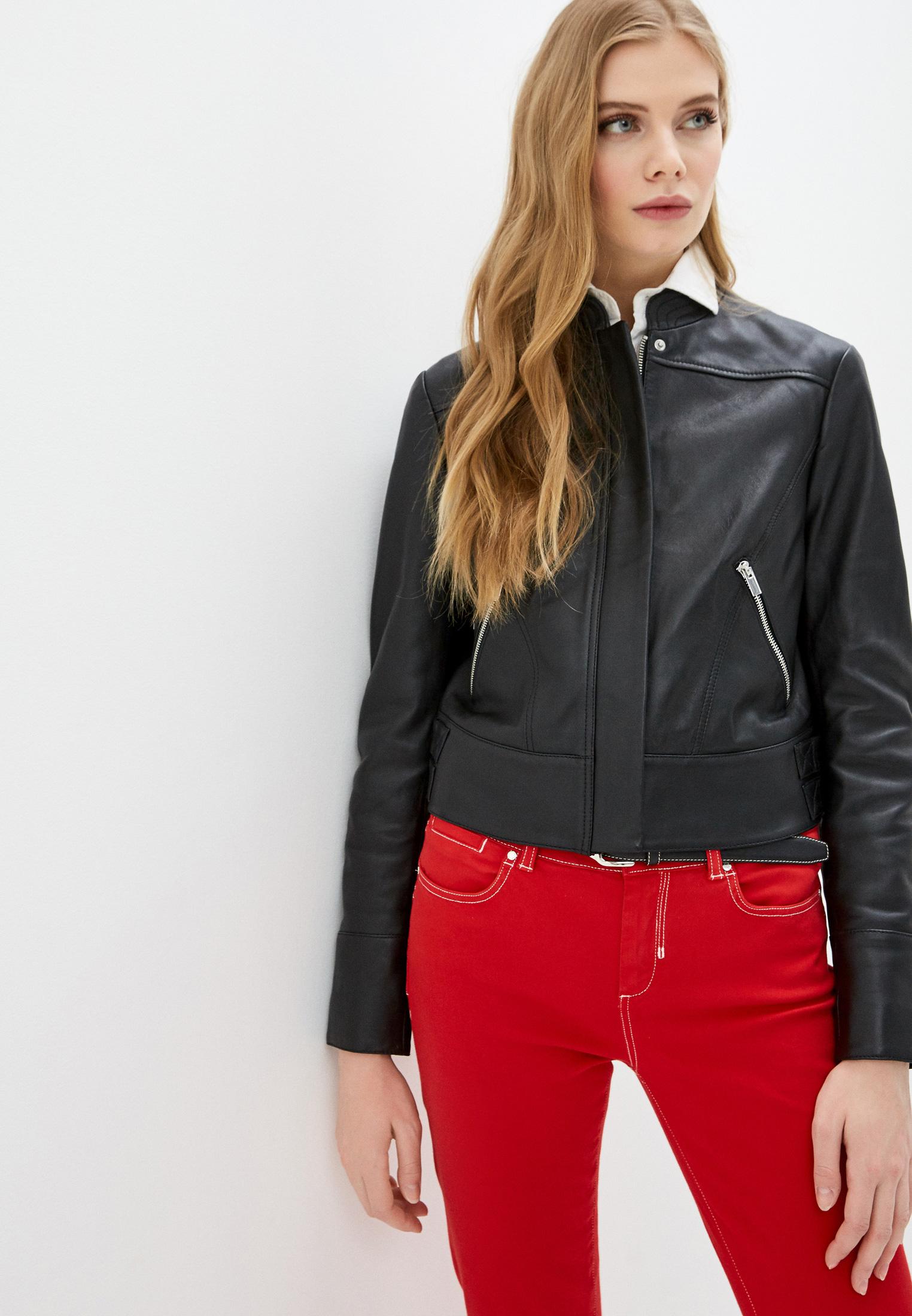 Кожаная куртка Sportmax Code 7441030206