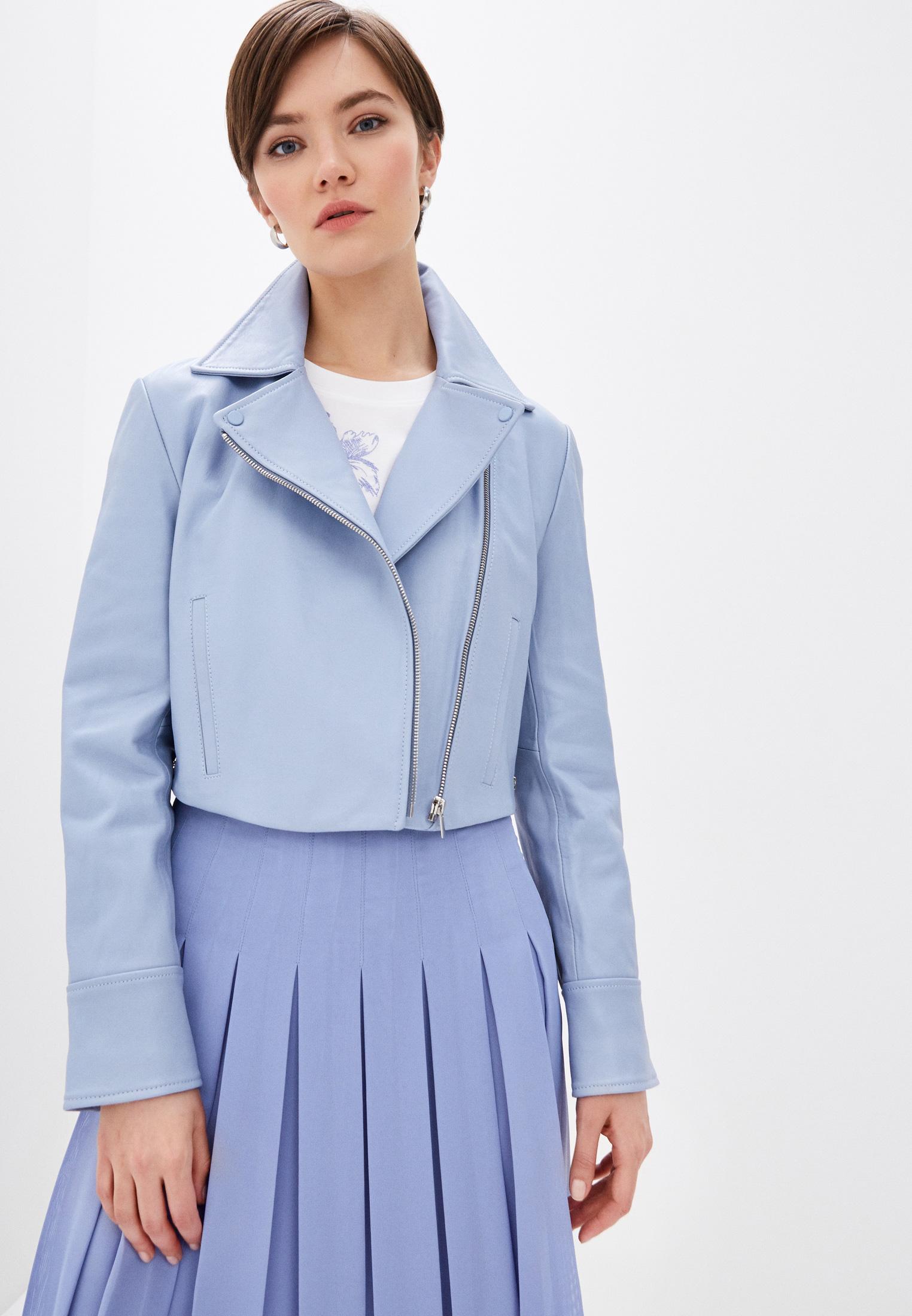 Кожаная куртка Sportmax Code 7441020206