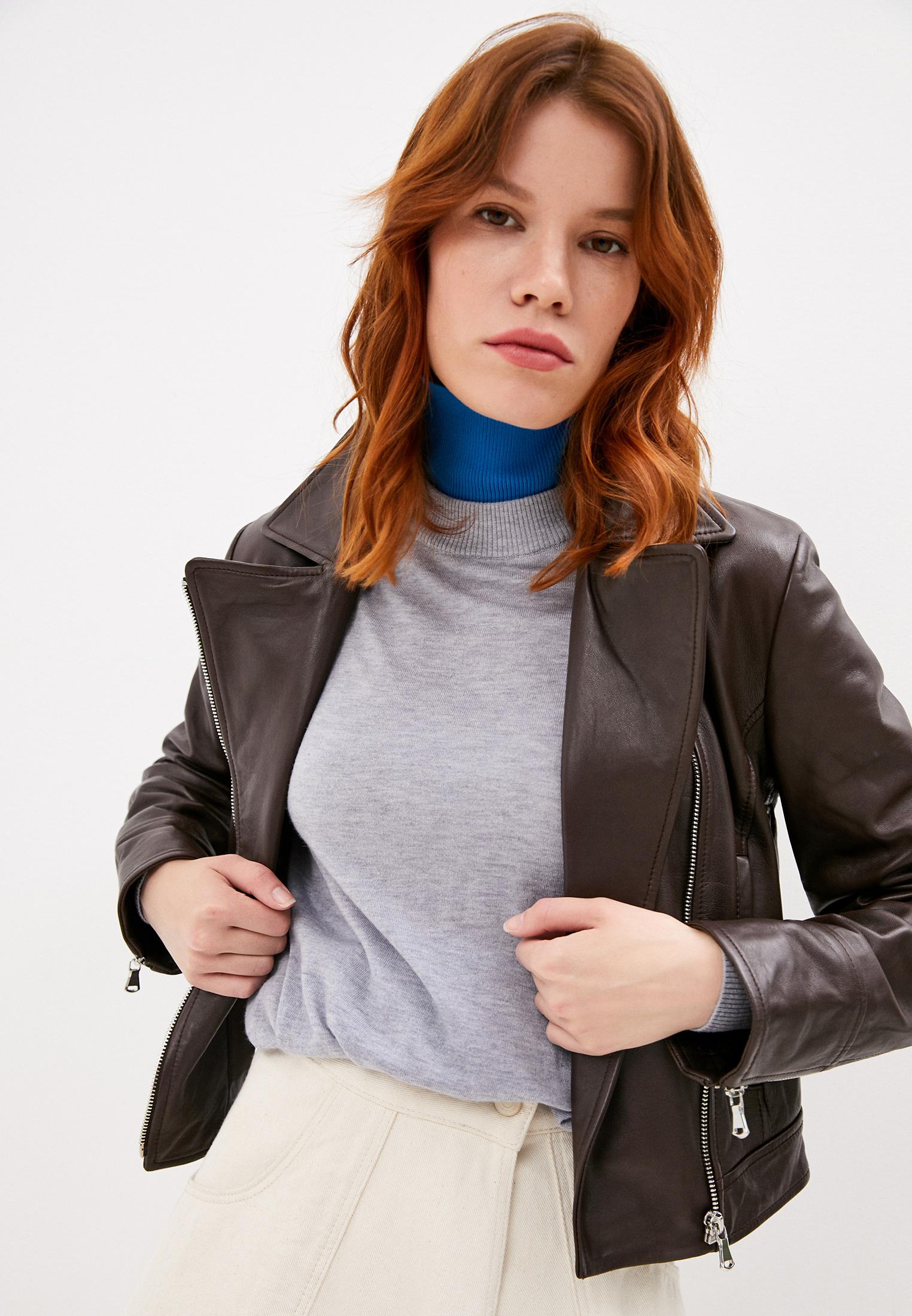 Кожаная куртка Sportmax Code 74460206
