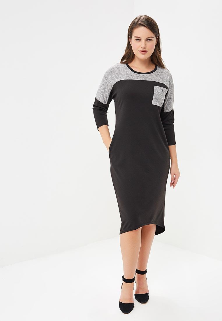 Вязаное платье Sparada пл_хелен_02сер