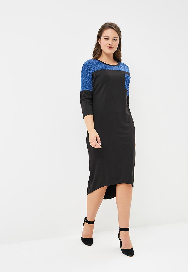 Вязаное платье Sparada пл_хелен_03син