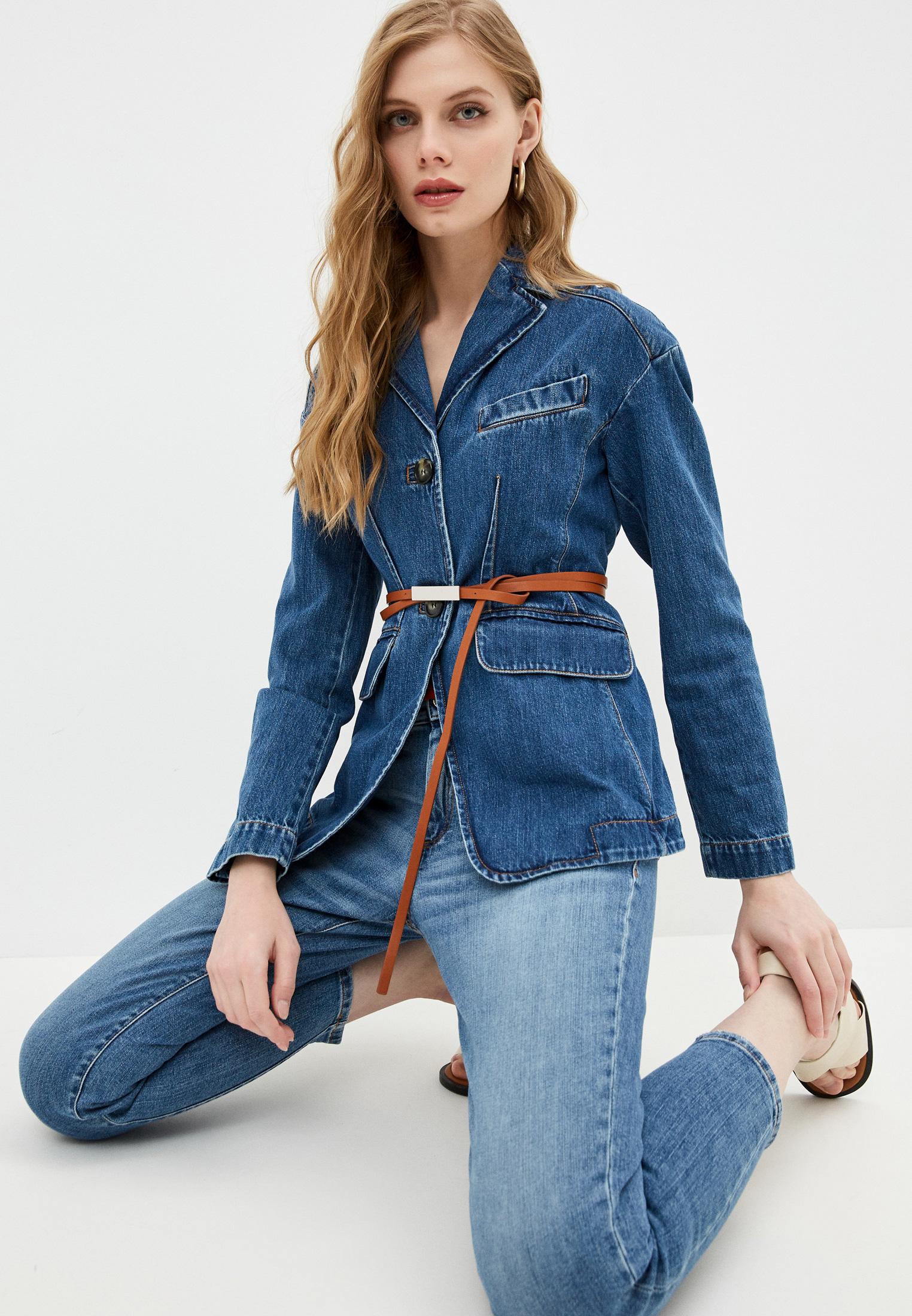 Джинсовая куртка SPORTMAX 70410317600