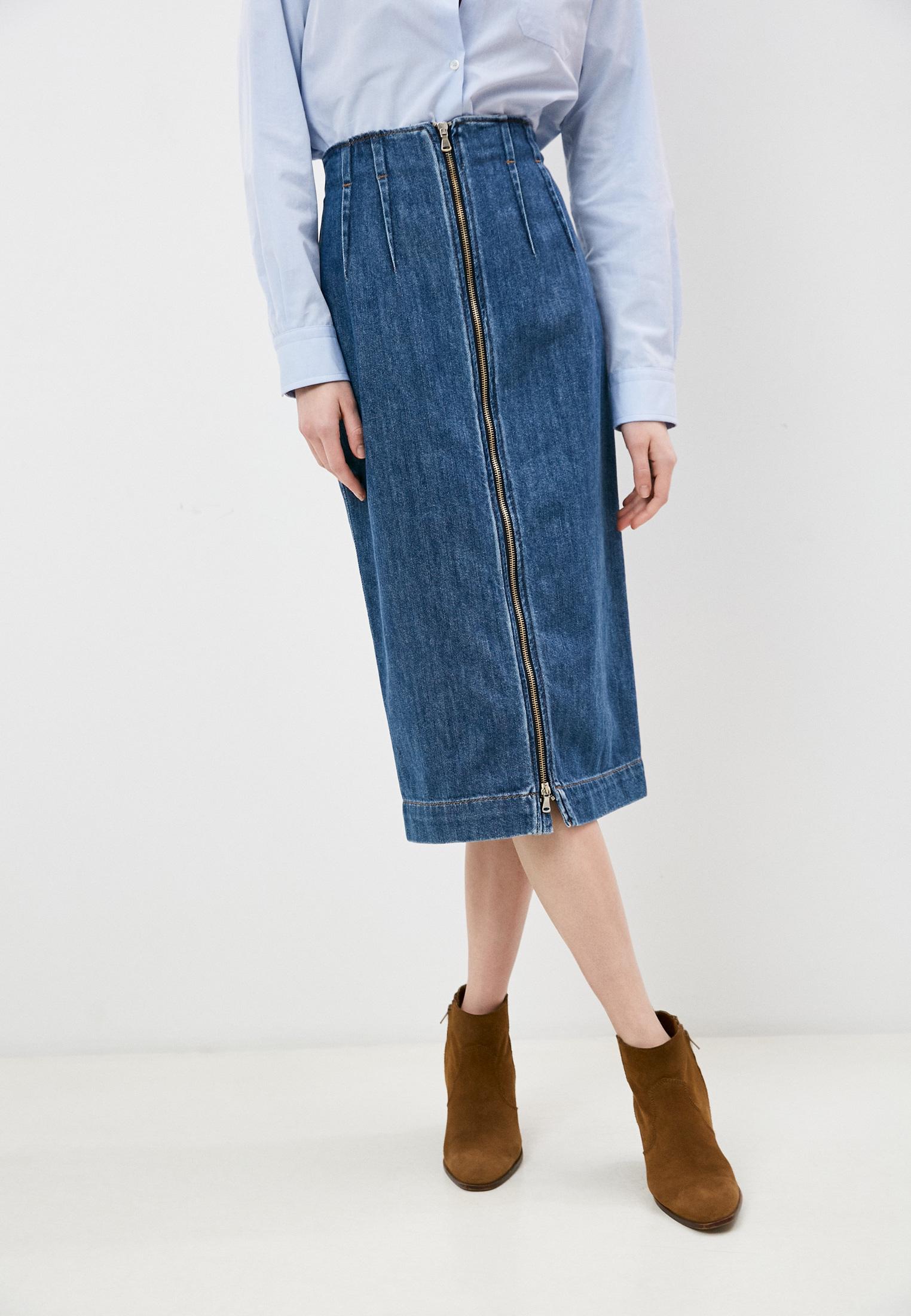 Джинсовая юбка SPORTMAX Юбка джинсовая Sportmax