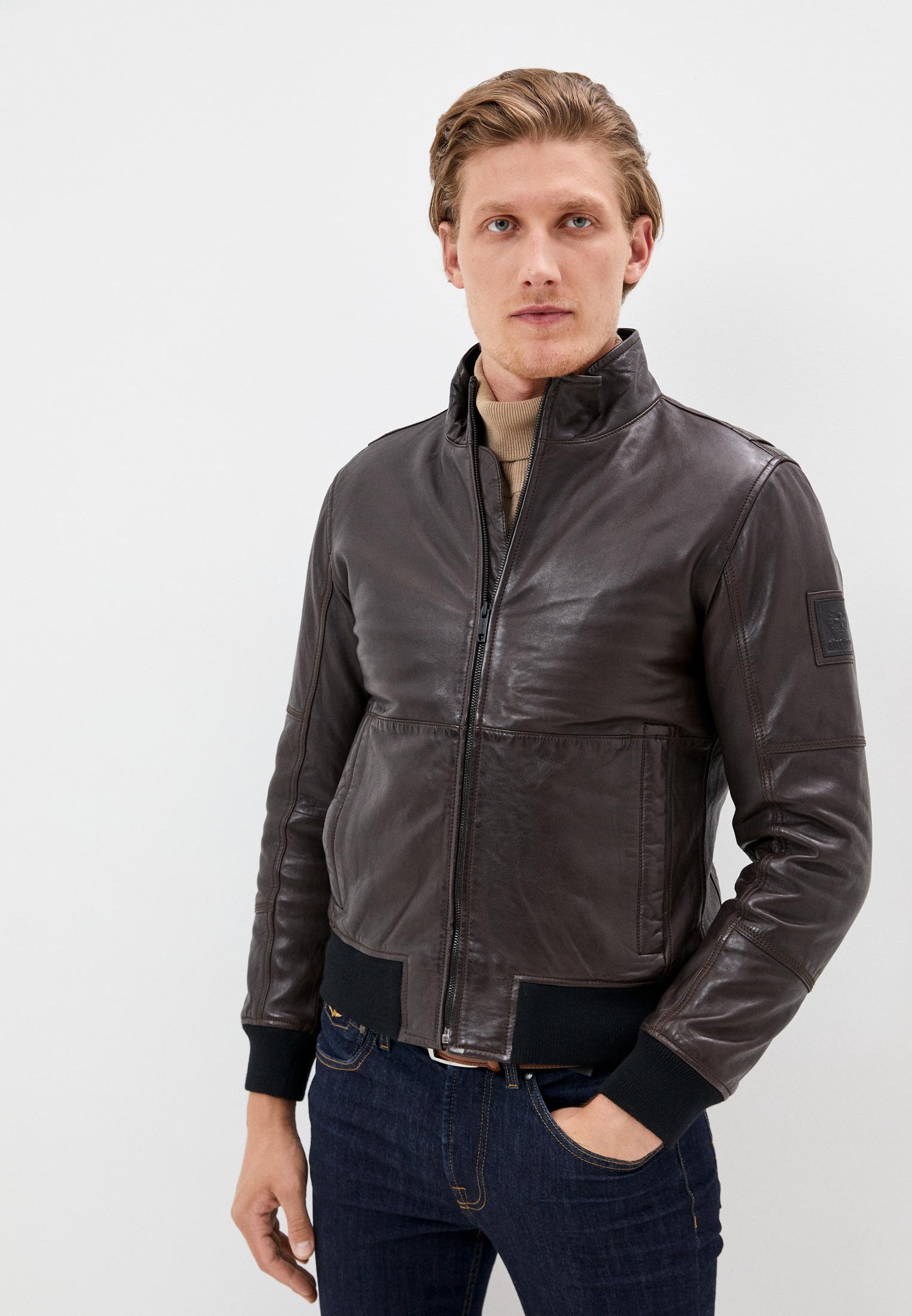 Кожаная куртка Strellson 110005975