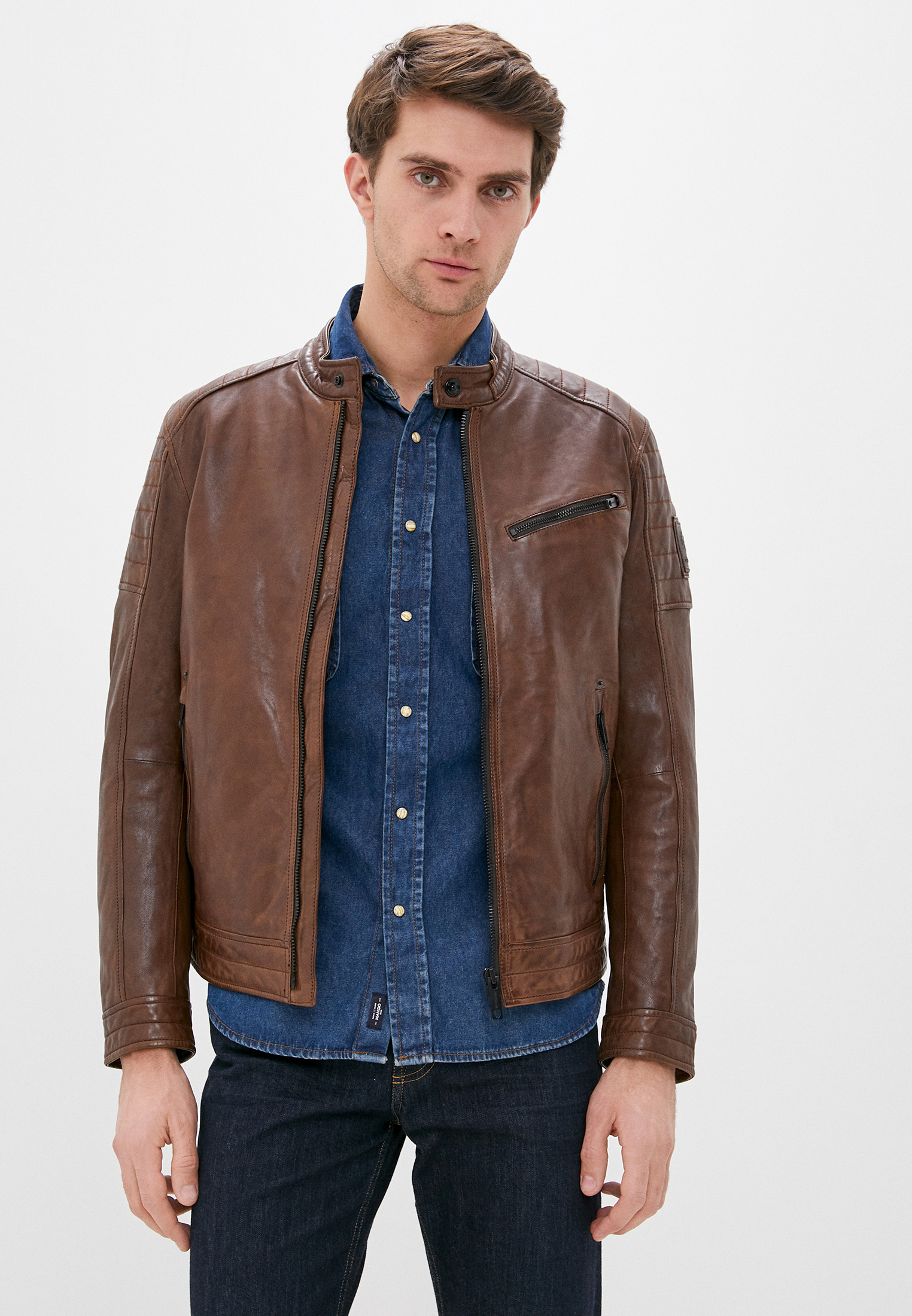 Кожаная куртка Strellson 110005955