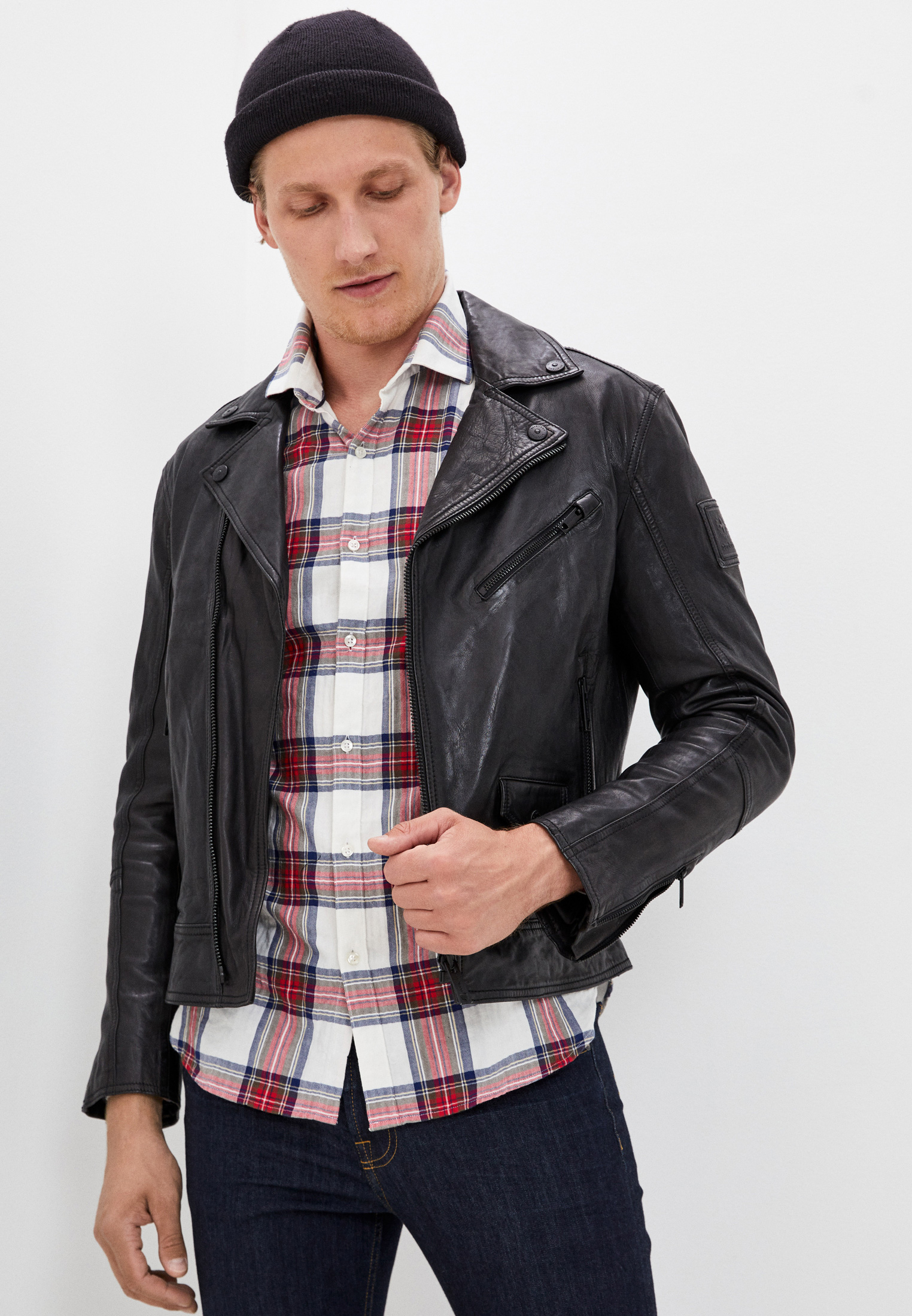 Кожаная куртка Strellson 110005974