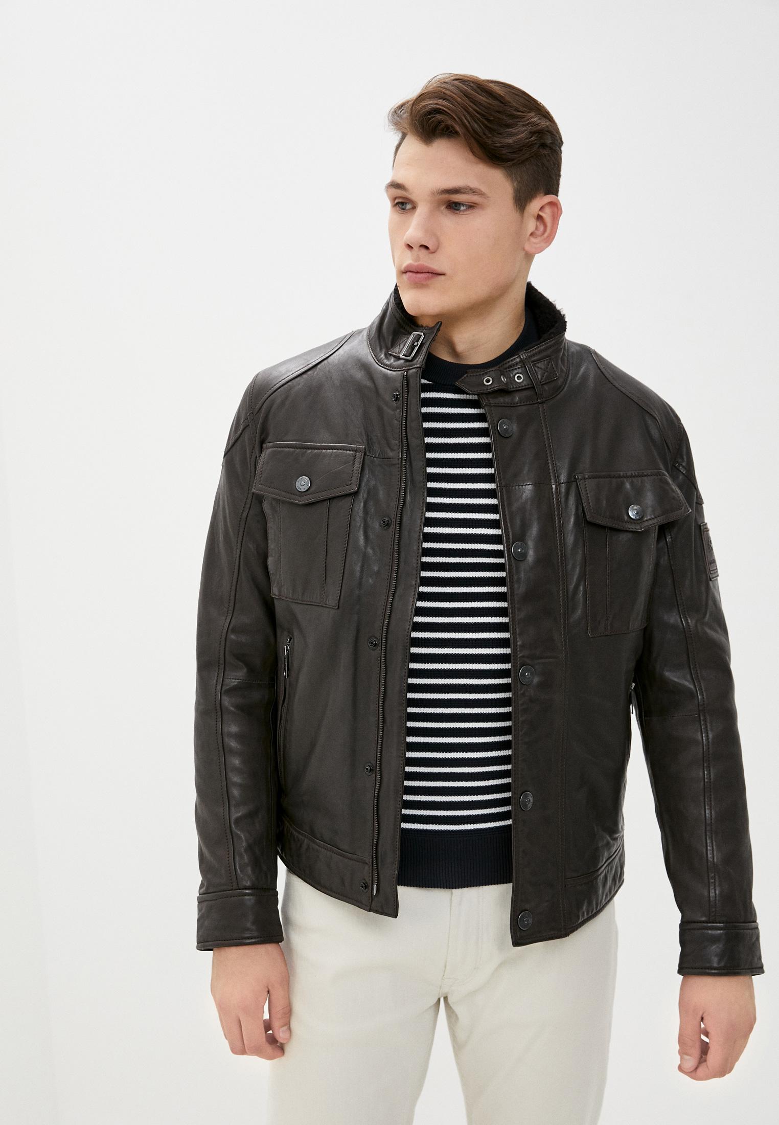 Кожаная куртка Strellson 110005946