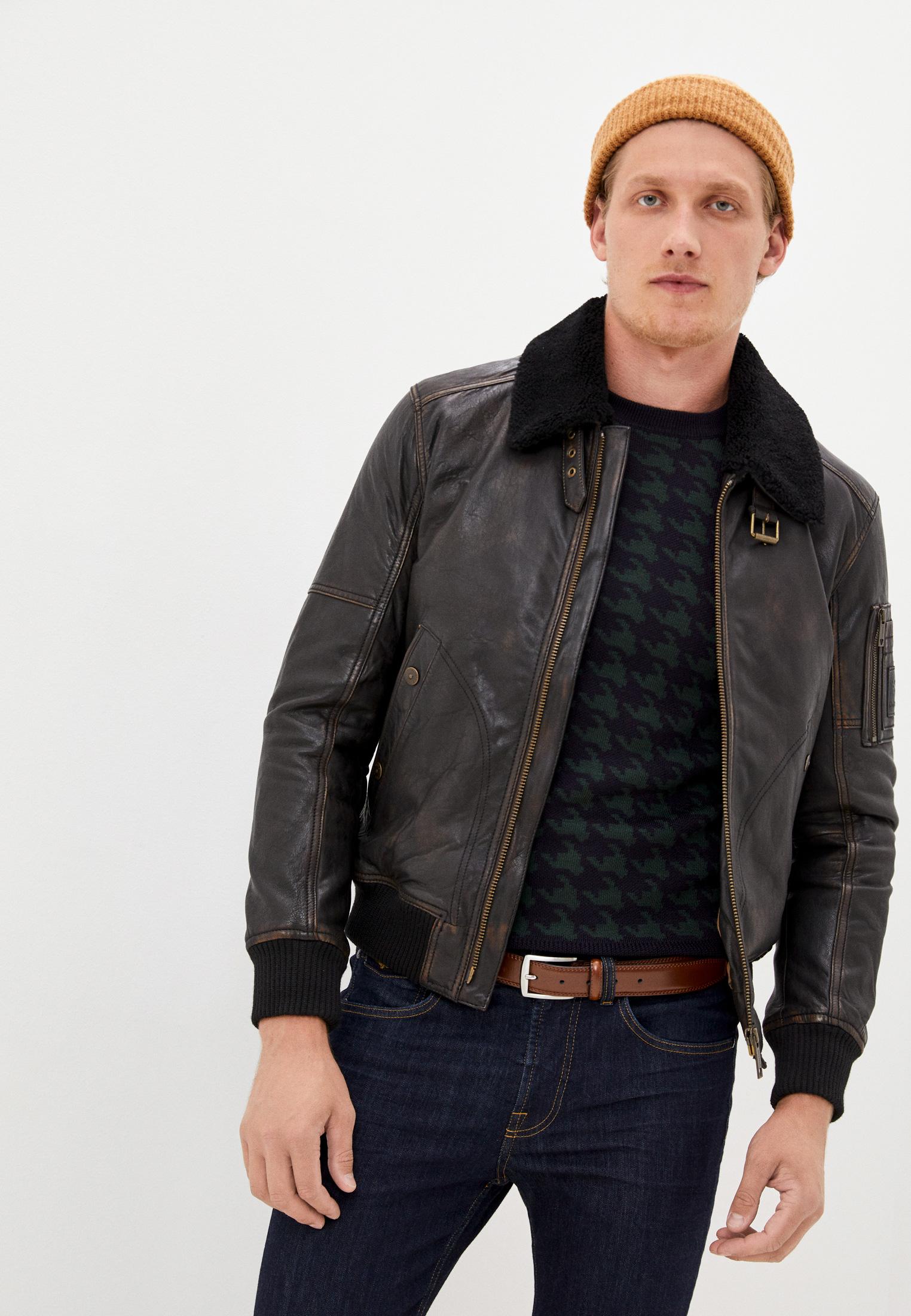 Кожаная куртка Strellson 110005944