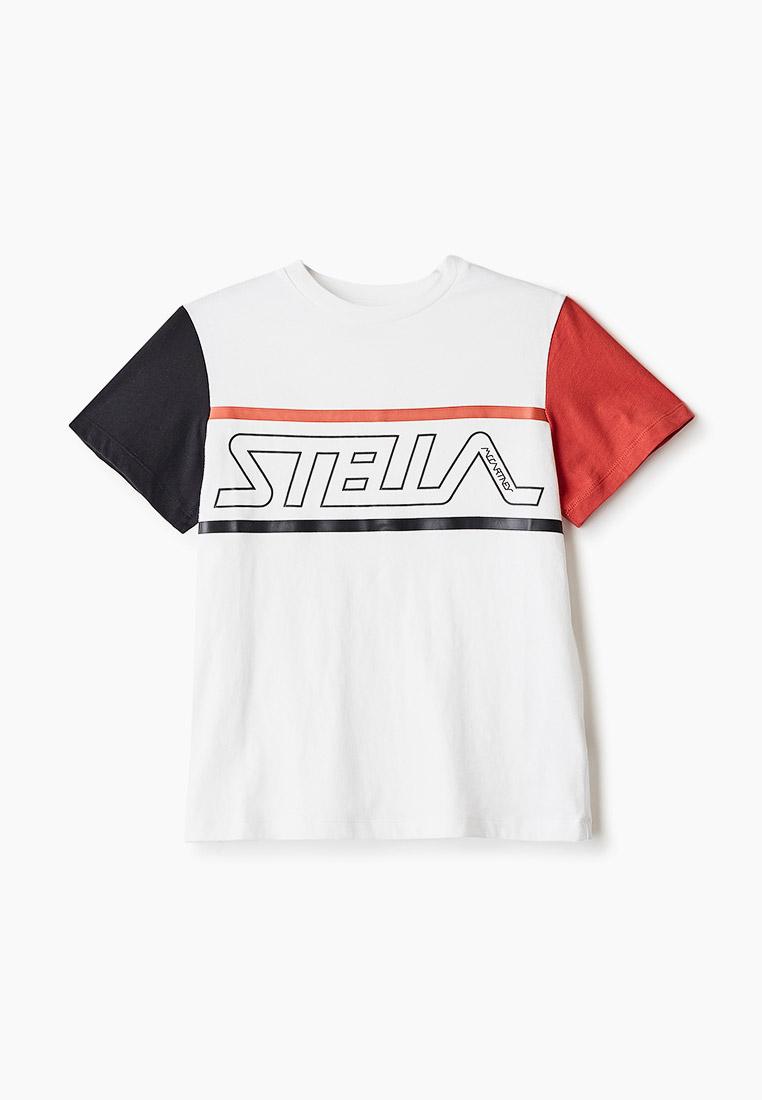 Футболка с коротким рукавом Stella McCartney Kids 588484SOJ84