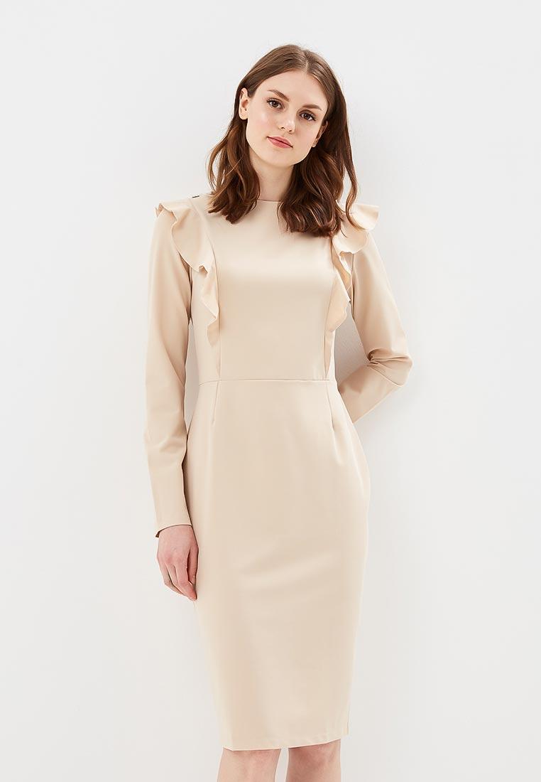 Вечернее / коктейльное платье Stylove S077-beige