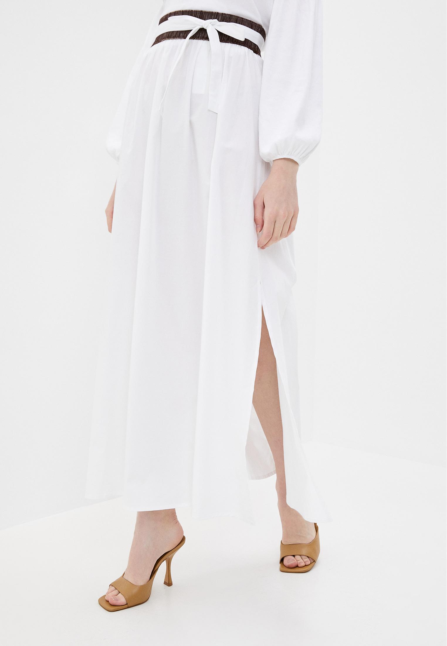 Широкая юбка Stefanel HG040D71979