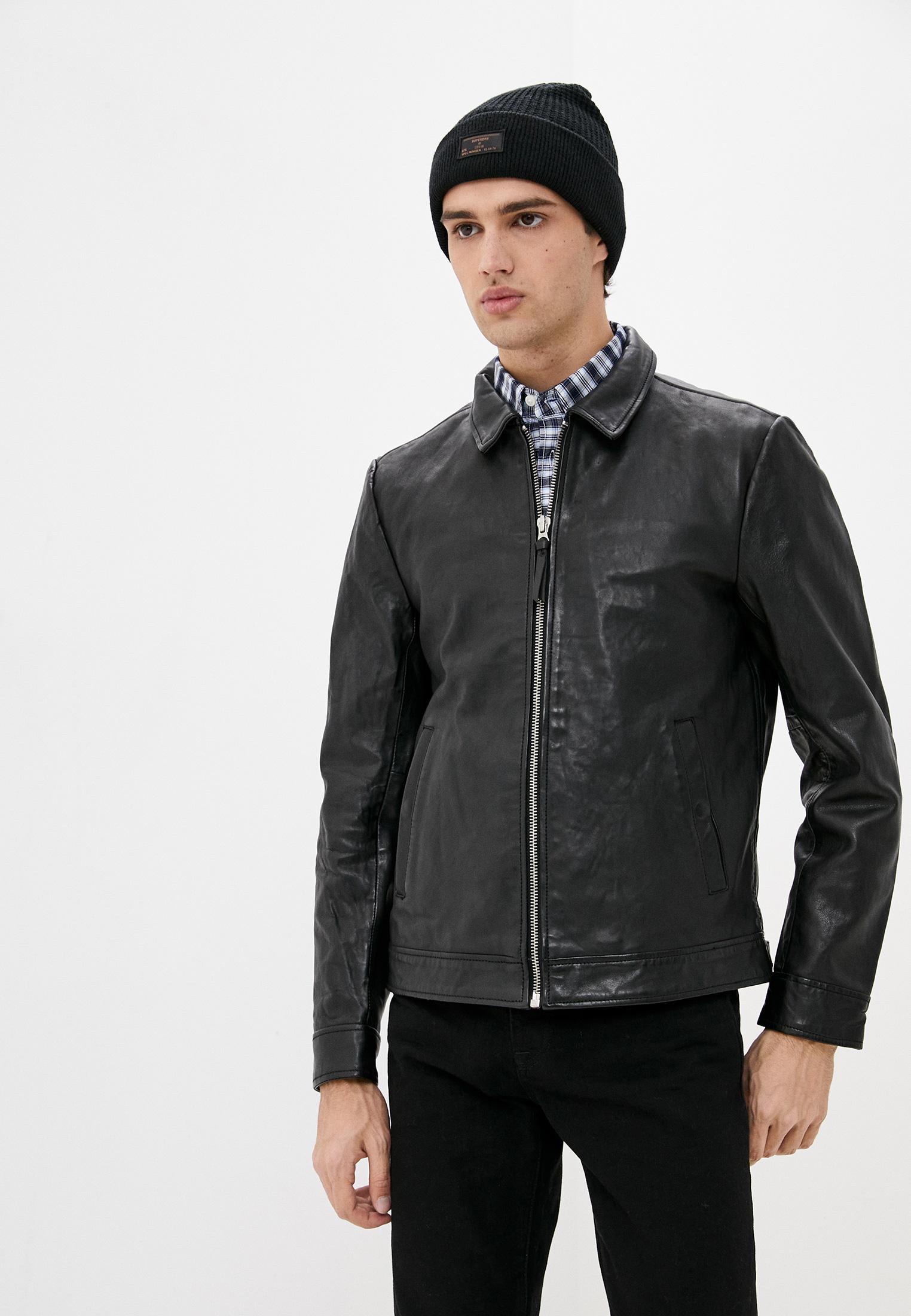 Кожаная куртка Superdry Куртка кожаная Superdry