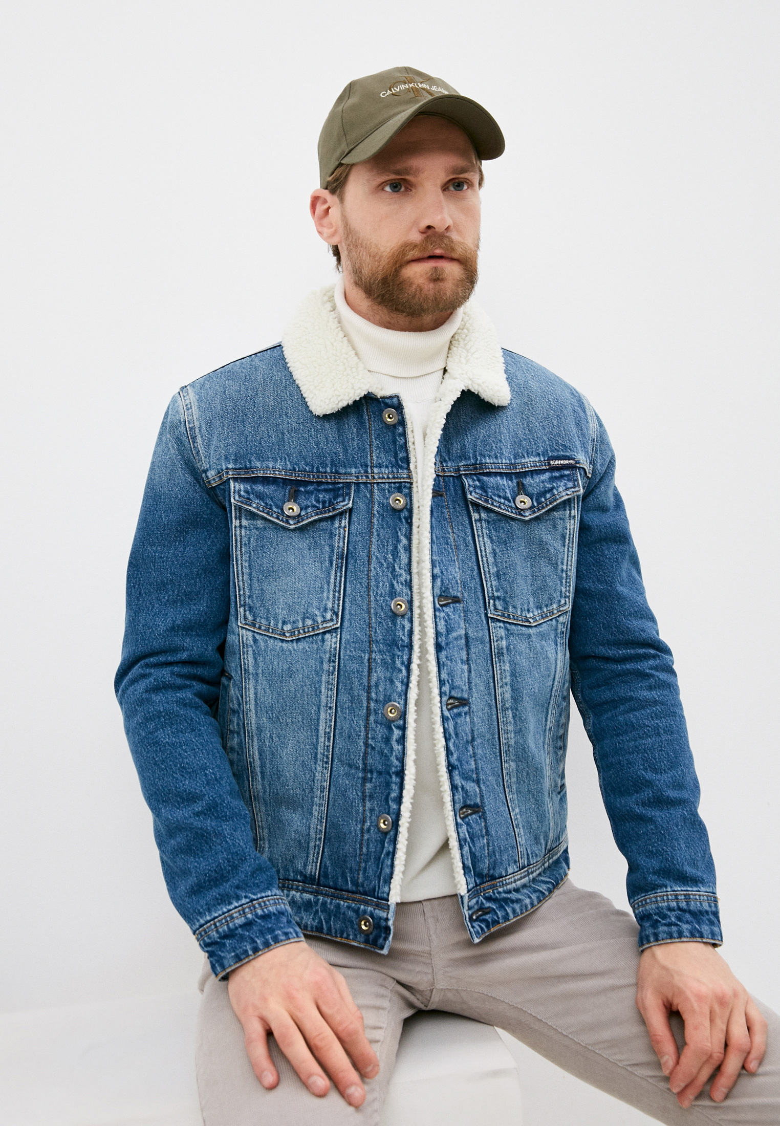 Джинсовая куртка Superdry M5010280A