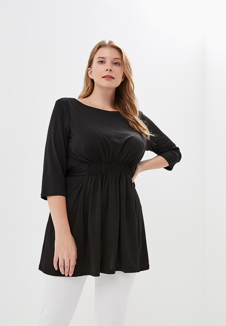 2b7c79e2dfa Черные женские туники - купить модную тунику в интернет магазине