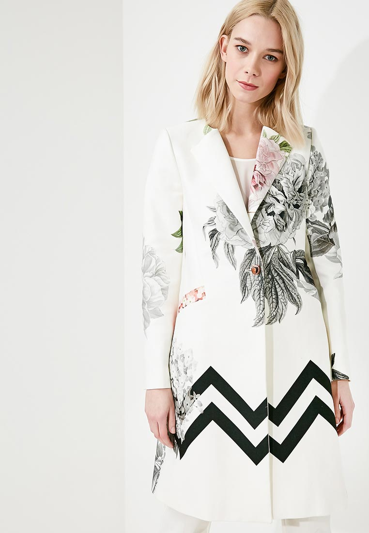 8df95f88b3f16 Белые женские пальто - купить модное пальто в интернет магазине