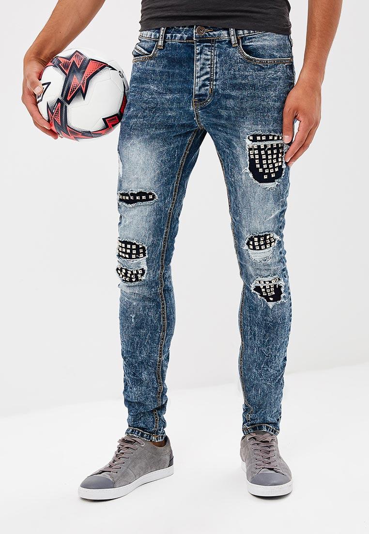 Зауженные джинсы Terance Kole 72219