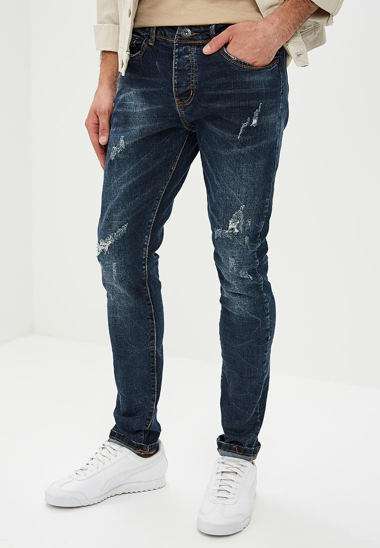 Зауженные джинсы Terance Kole 72242