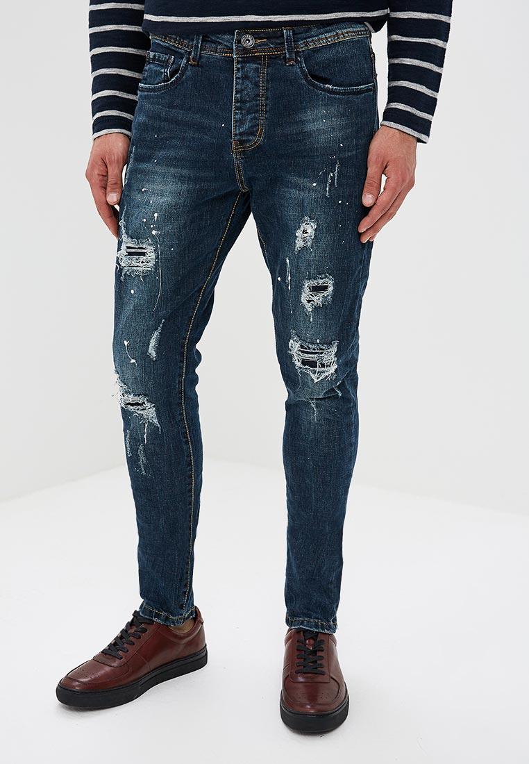 Зауженные джинсы Terance Kole 72246