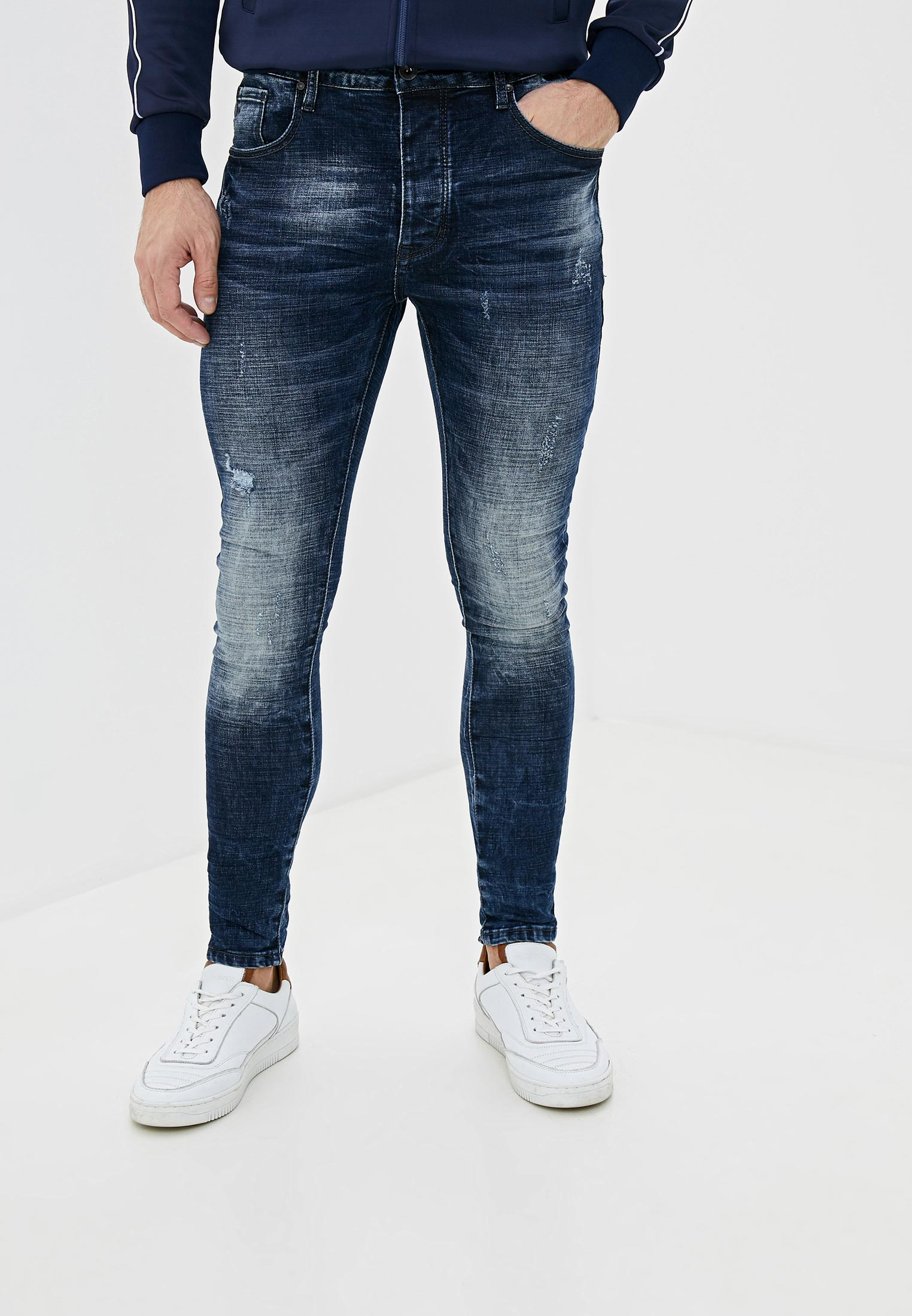 Зауженные джинсы Terance Kole 66081