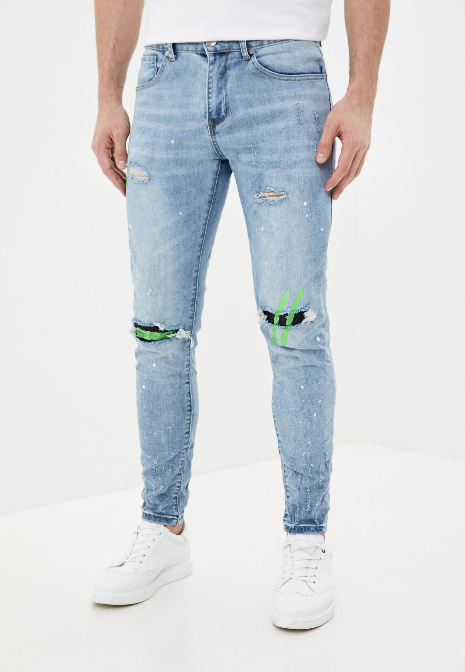Зауженные джинсы Terance Kole 58002