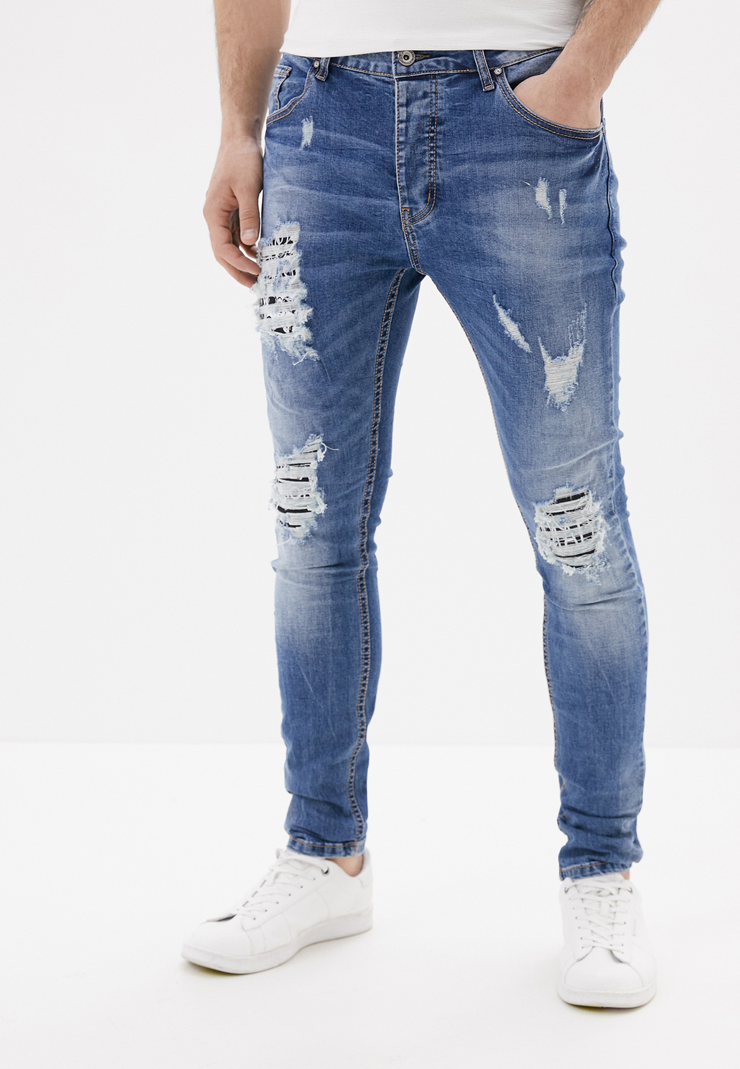 Зауженные джинсы Terance Kole 66105