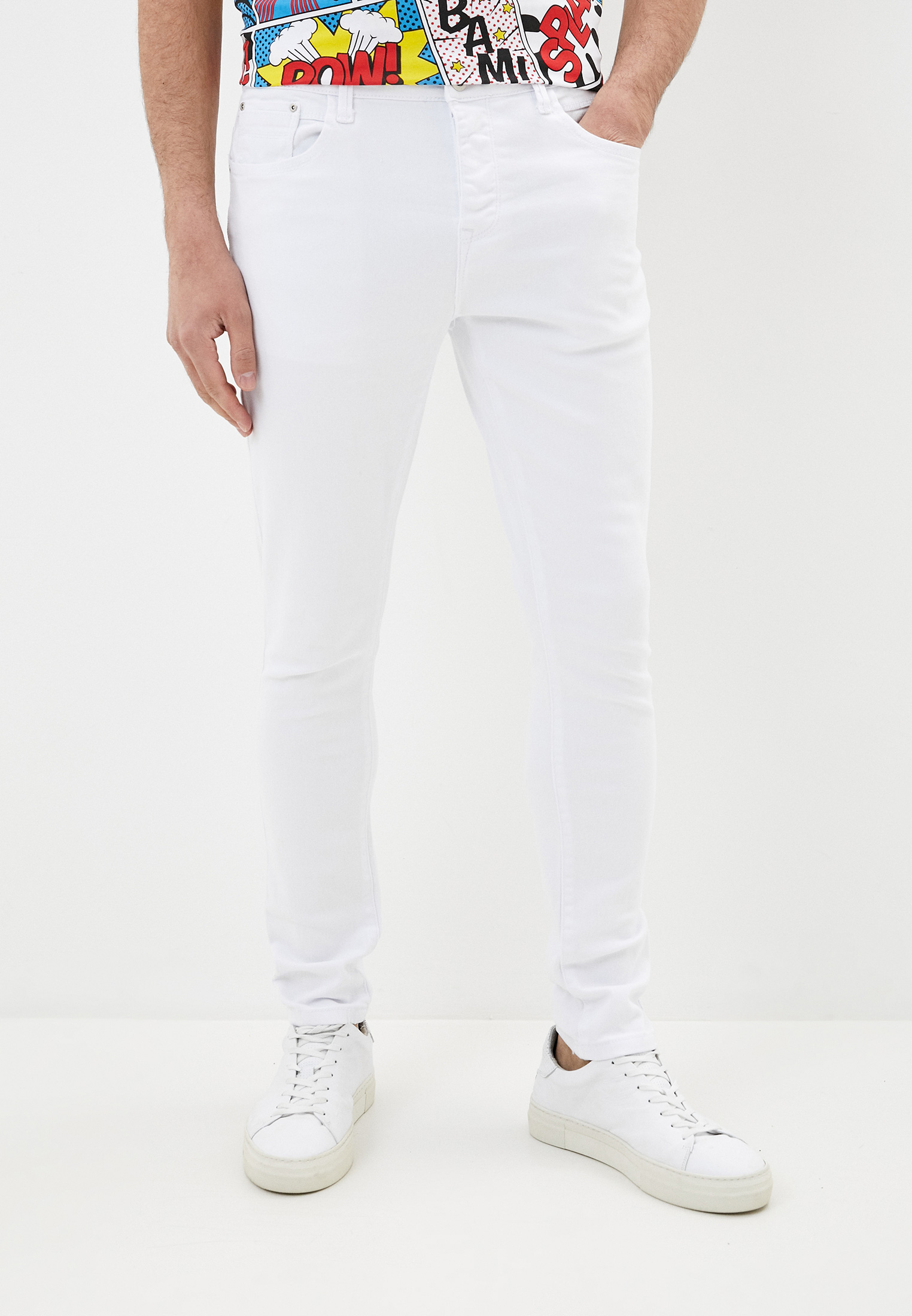 Зауженные джинсы Terance Kole 72295