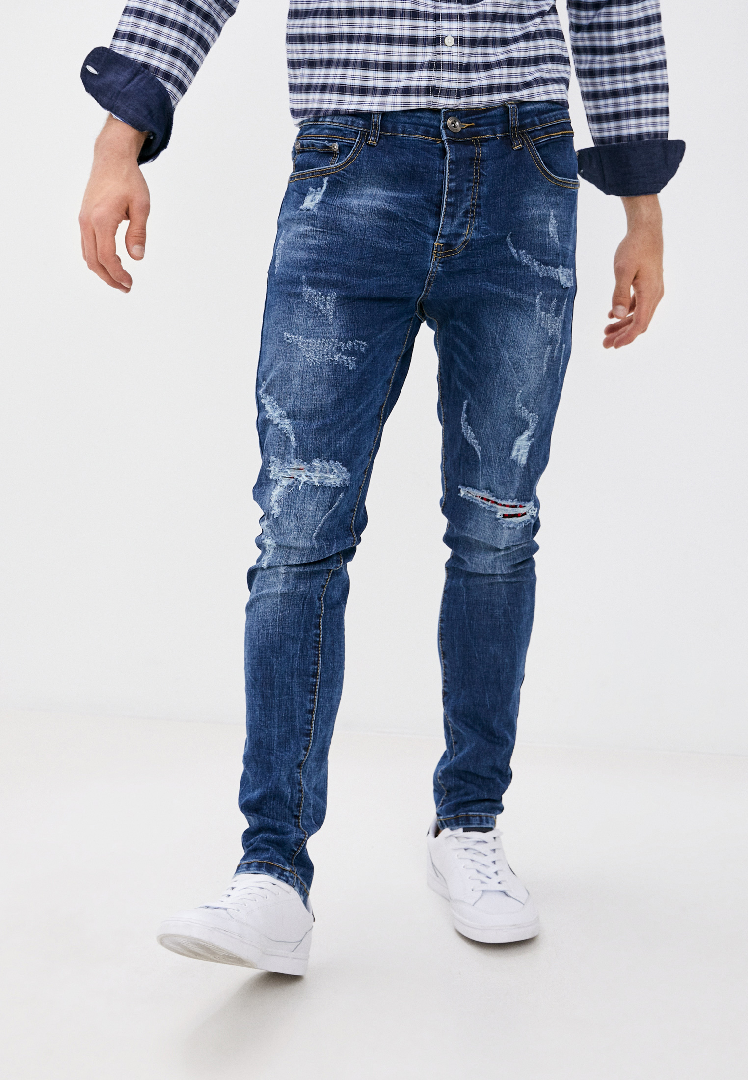 Зауженные джинсы Terance Kole 72283
