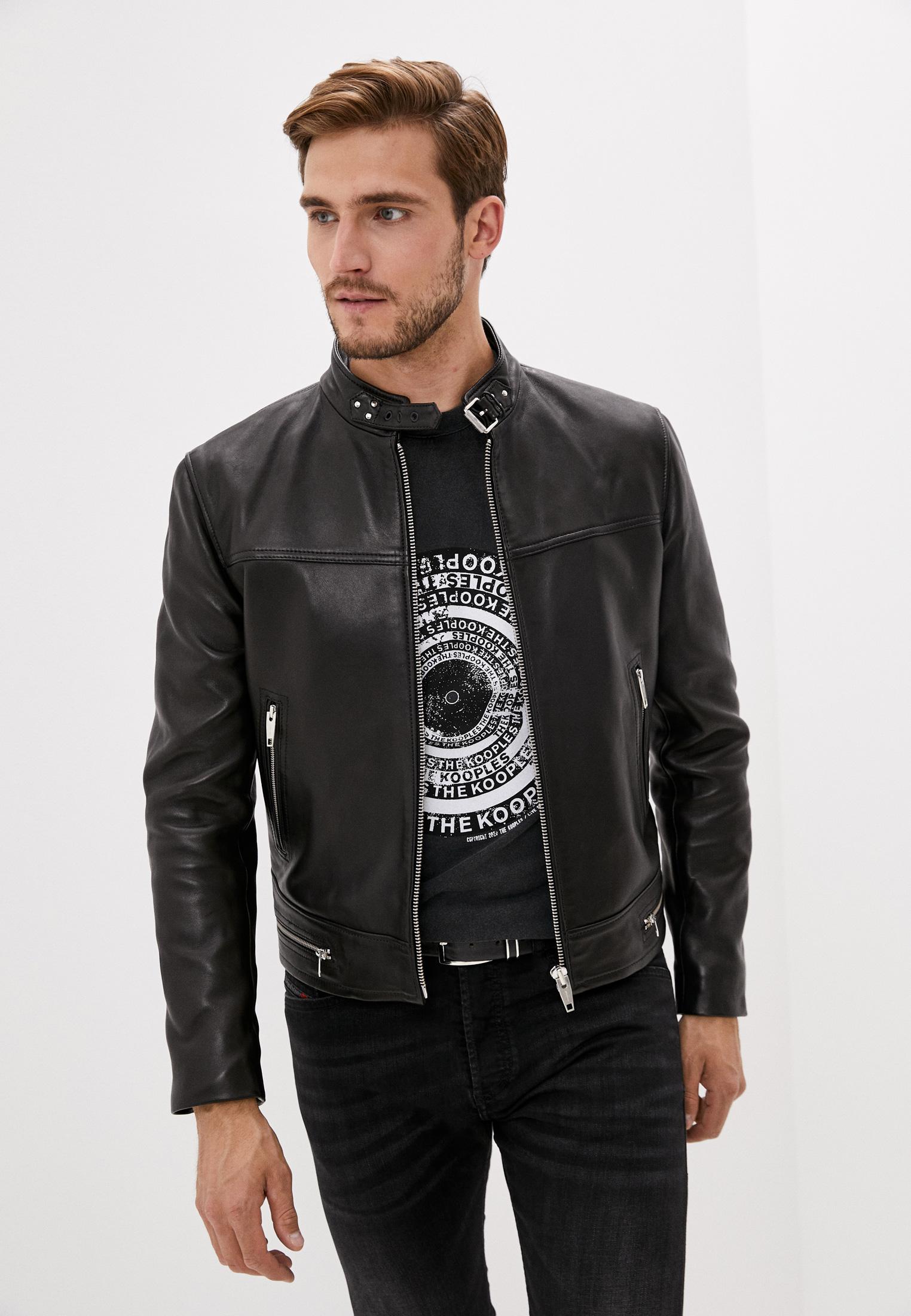 Кожаная куртка The Kooples HCUI21000K