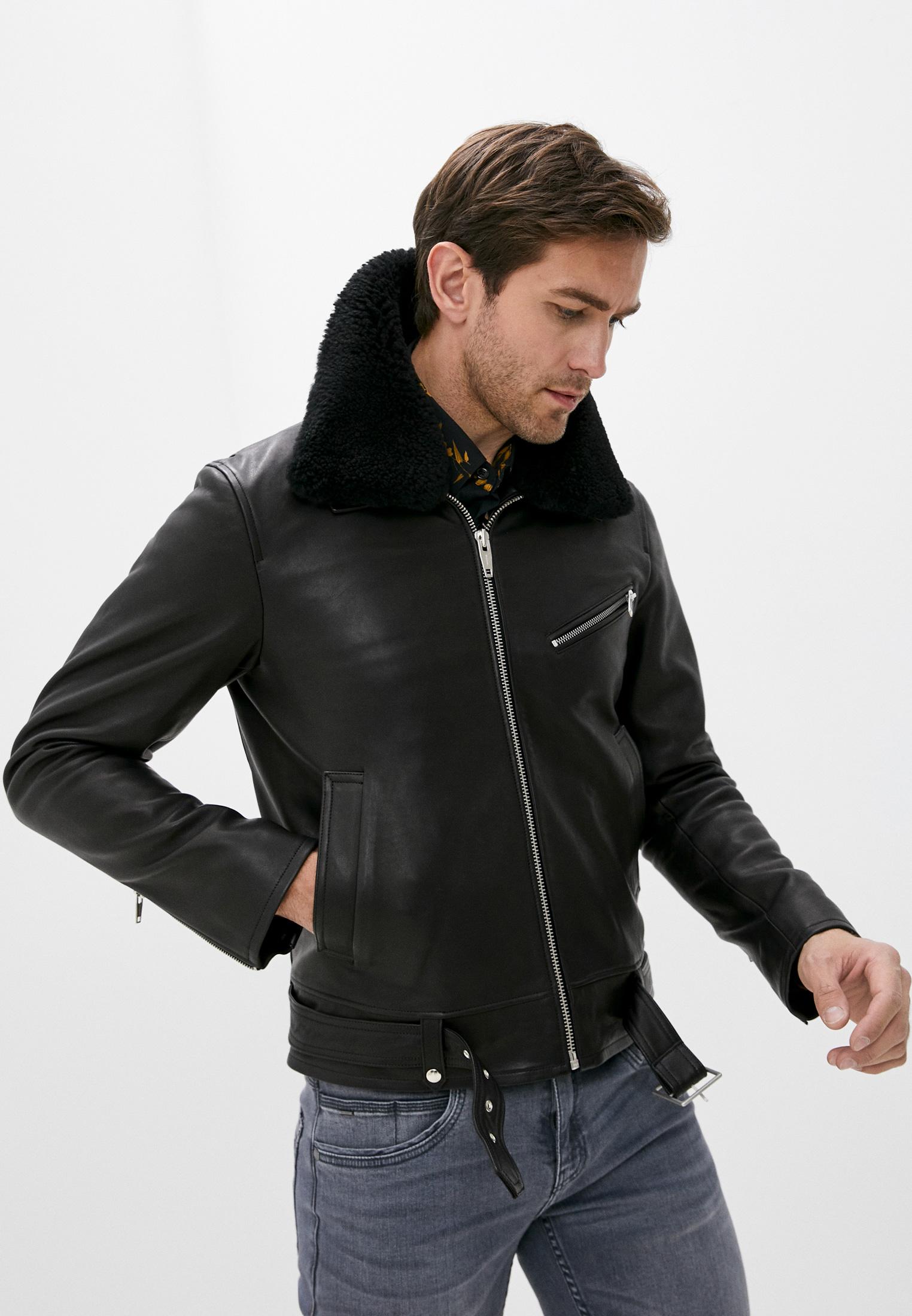 Кожаная куртка The Kooples HCUI21006K