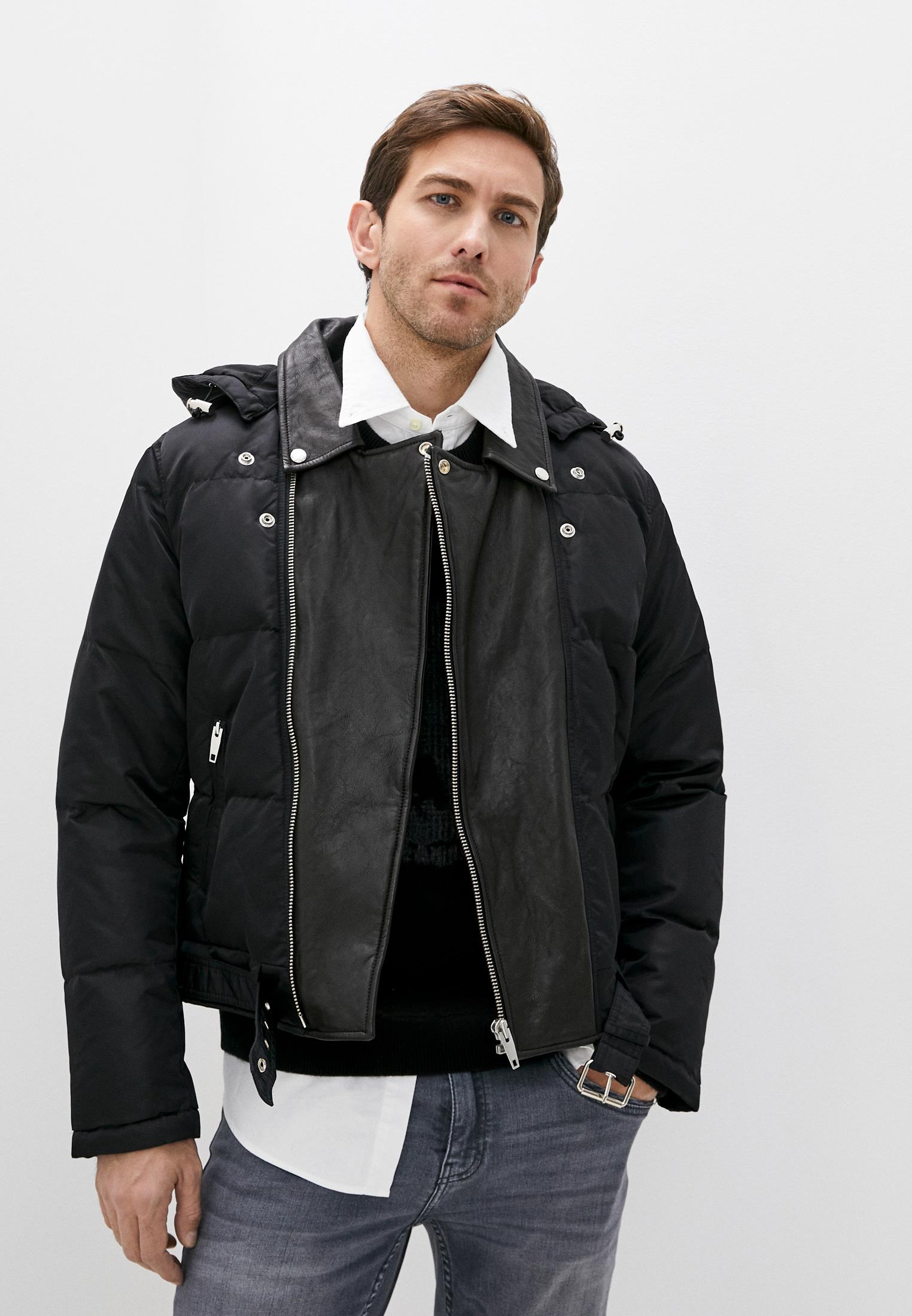 Кожаная куртка The Kooples HDOU21006K