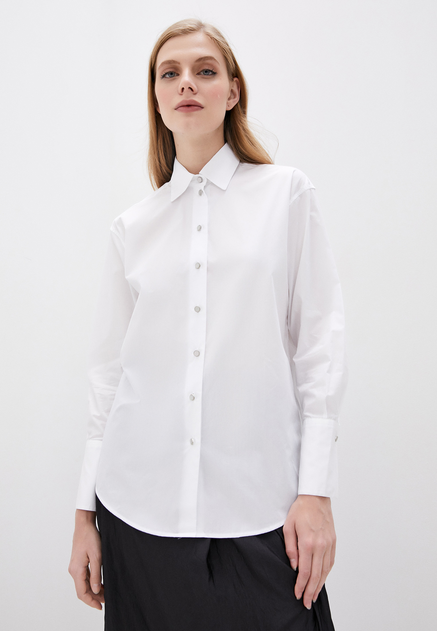 Женские рубашки с длинным рукавом The Kooples FCCL21009K