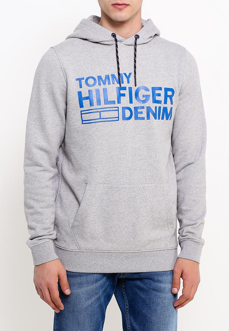 Мужские худи TommyHilfigerDenim (Томми Хилфигер Деним) DM0DM02383