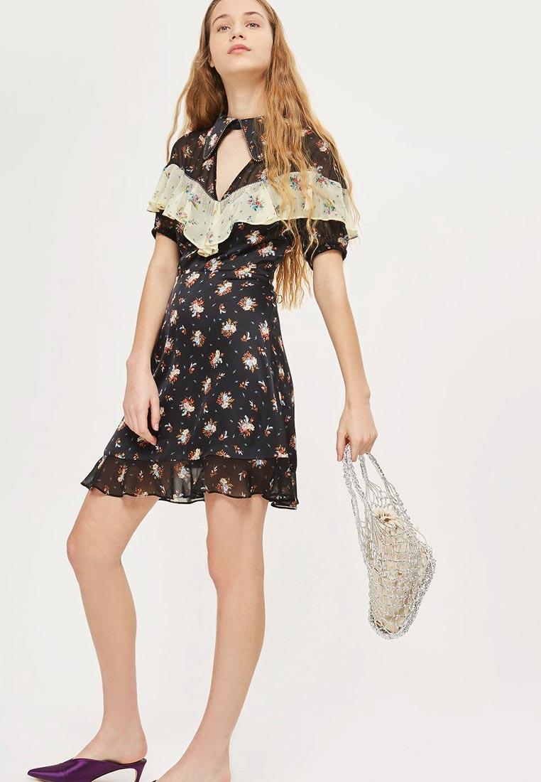 Вечернее / коктейльное платье Topshop (Топ Шоп) 35P04NBLK